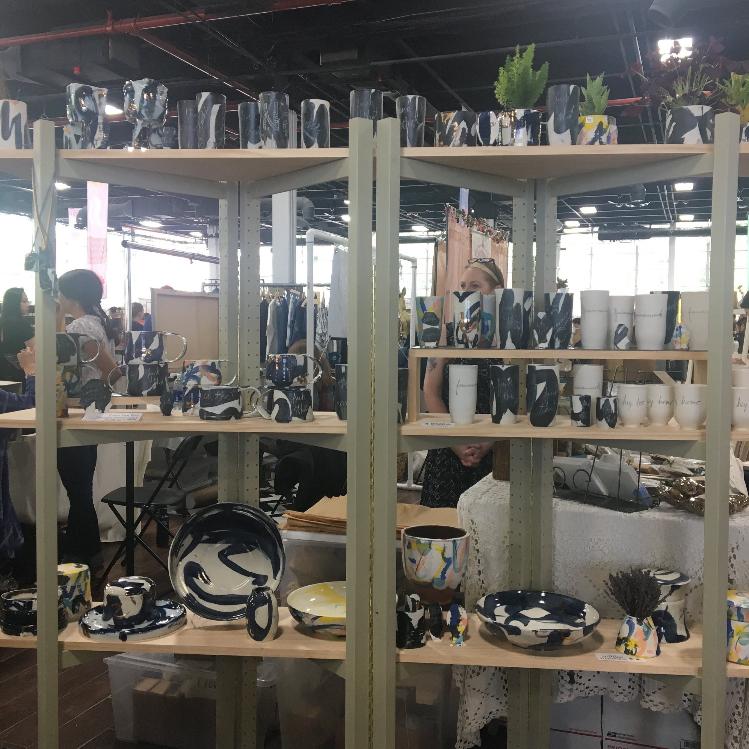 Renegade Craft, Brooklyn Expo Center, Greenpoint Brooklyn, Summer 2017