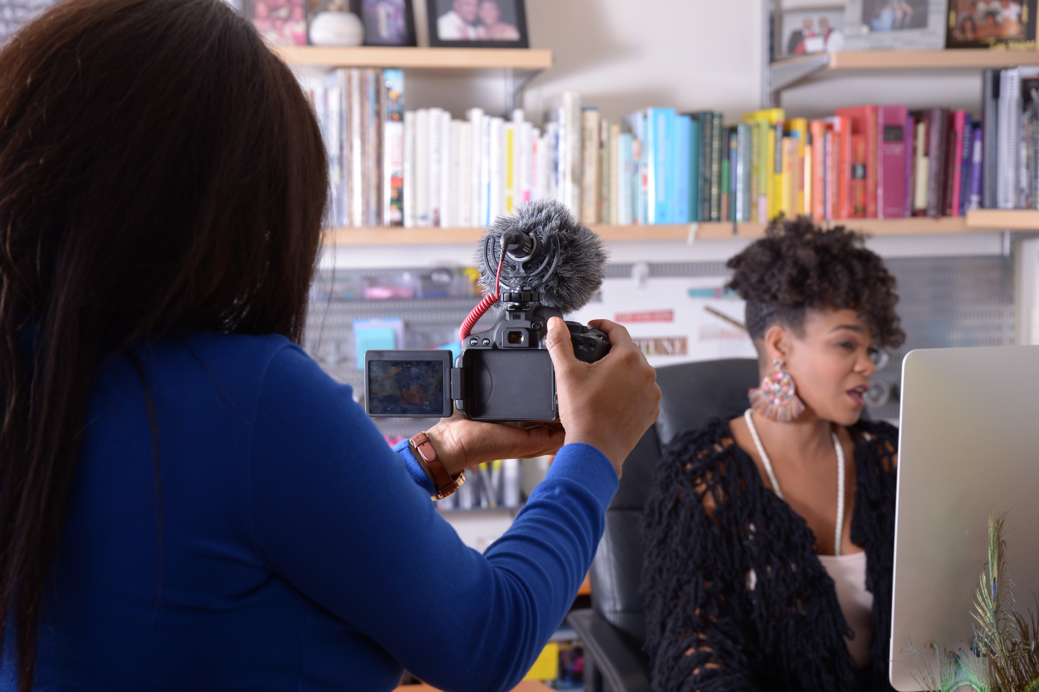 Elle filming Tanisha - Brand Story.jpg