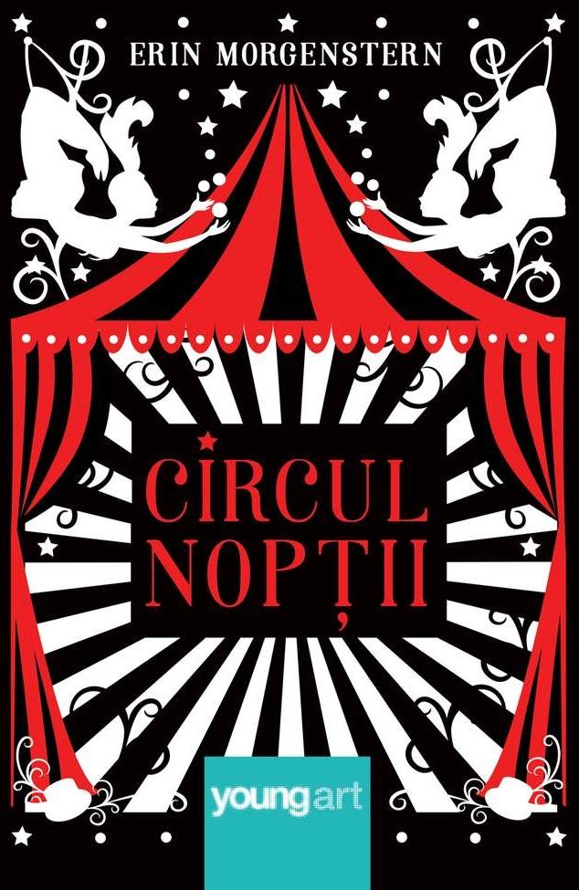 Coperta romanului Circul nopții