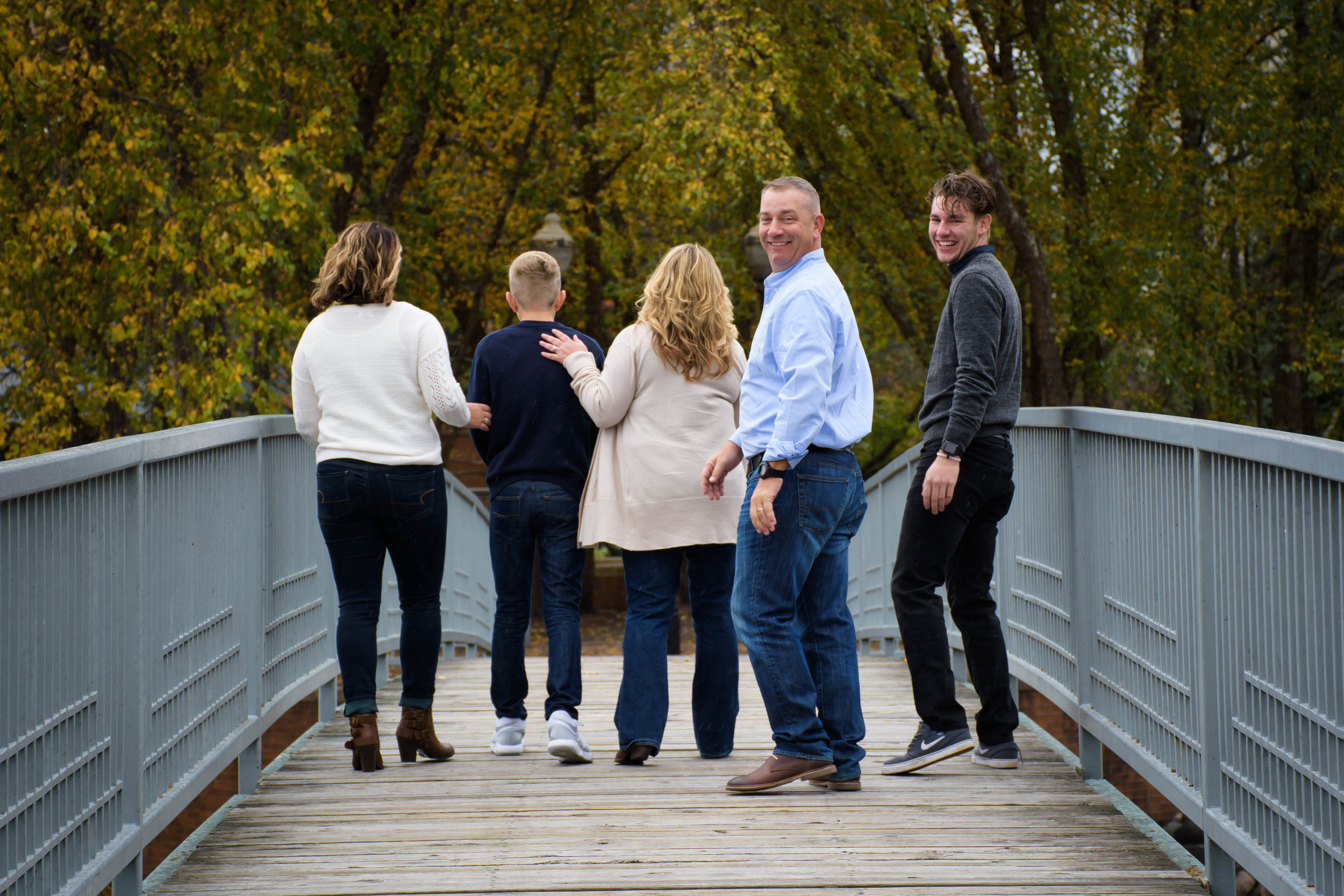 Skidmore Family Session - Battle Creek river walk
