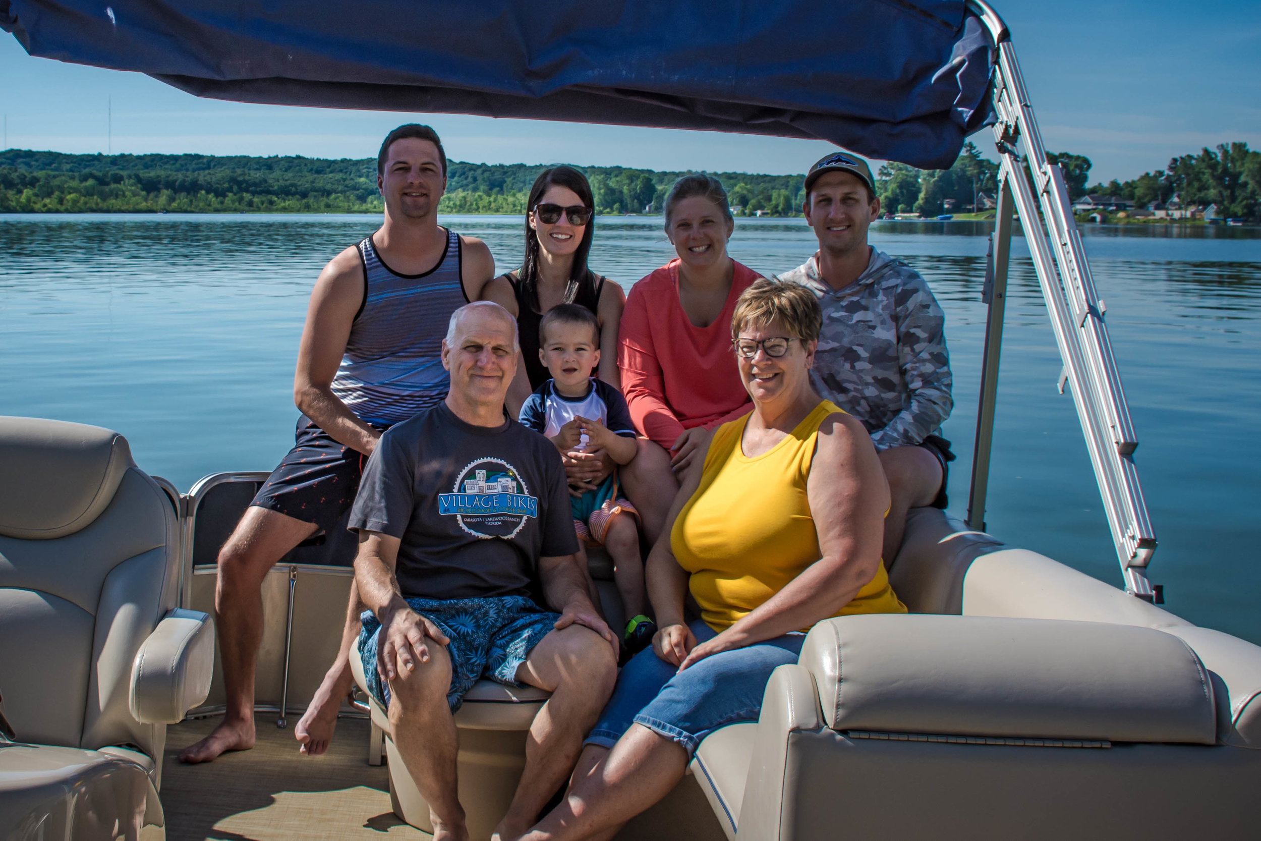 There is nothing better than starting our summer off with a family vacation on the lake! We spent 4 days together, boating, swimming, fishing, eating and laughing!