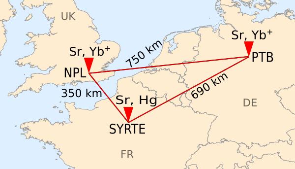 European network of fibre-linked optical atomic clocks