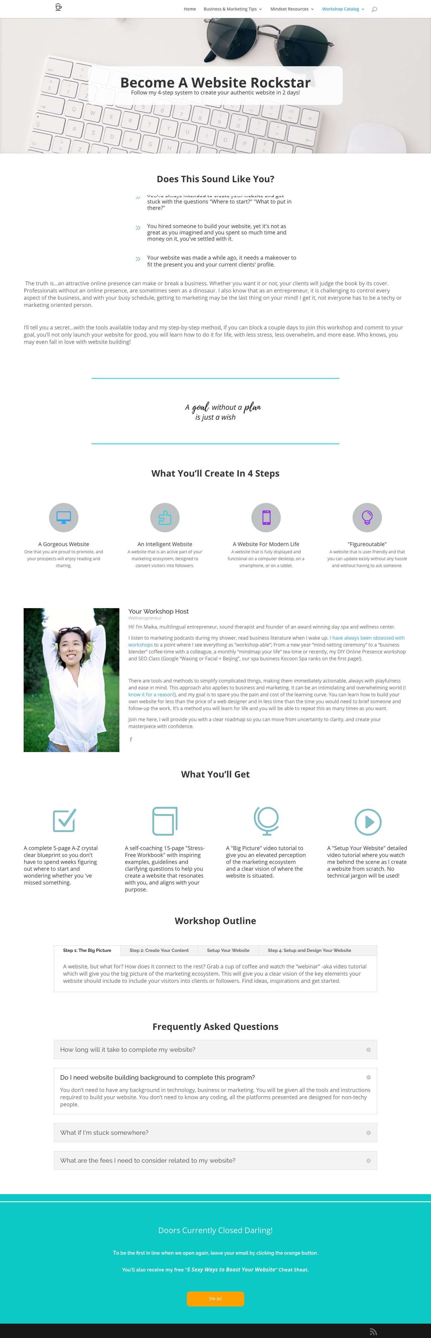 using the Divi builder for Wordpress