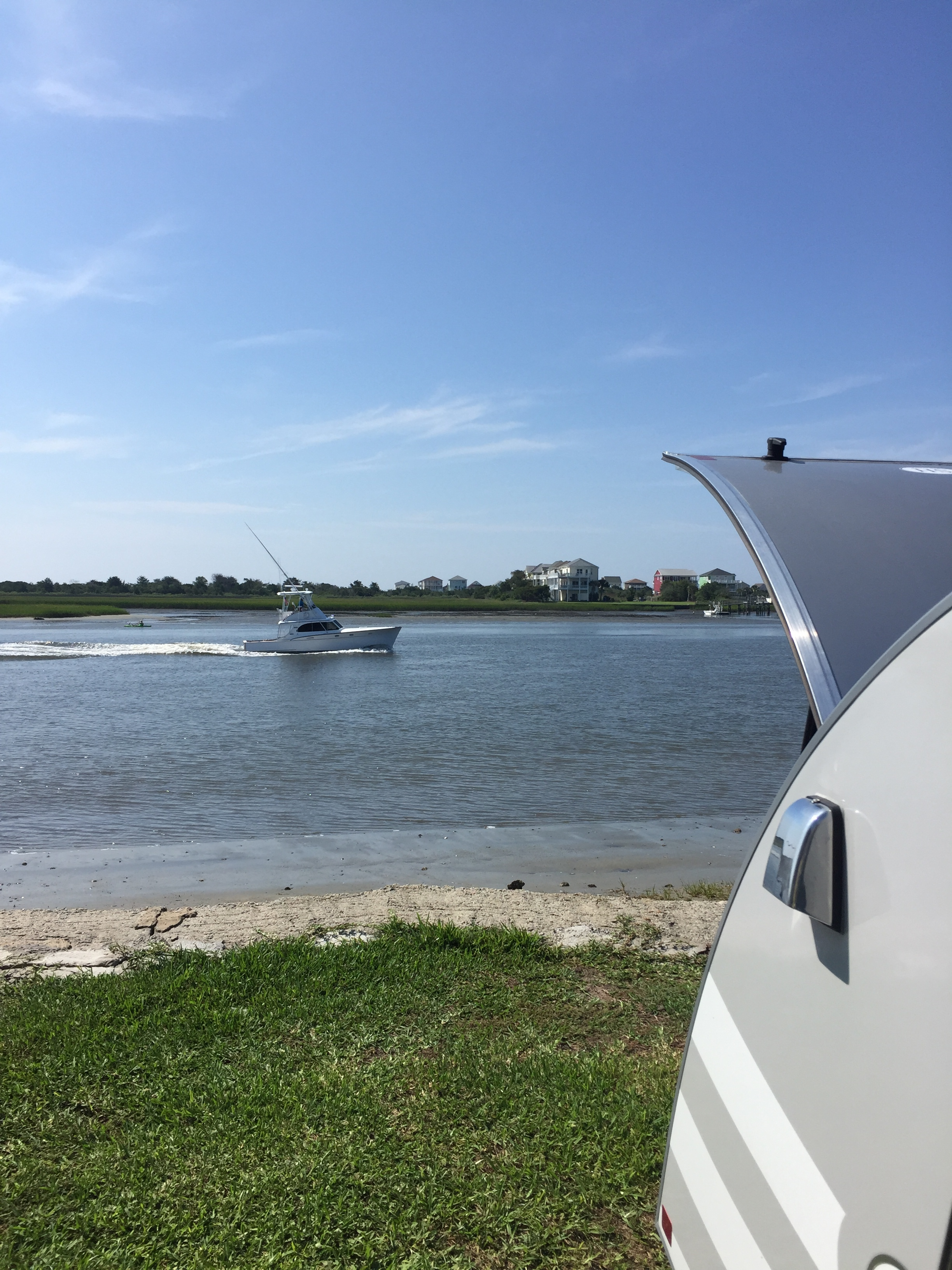 Campsite View- Waterway Family Campground