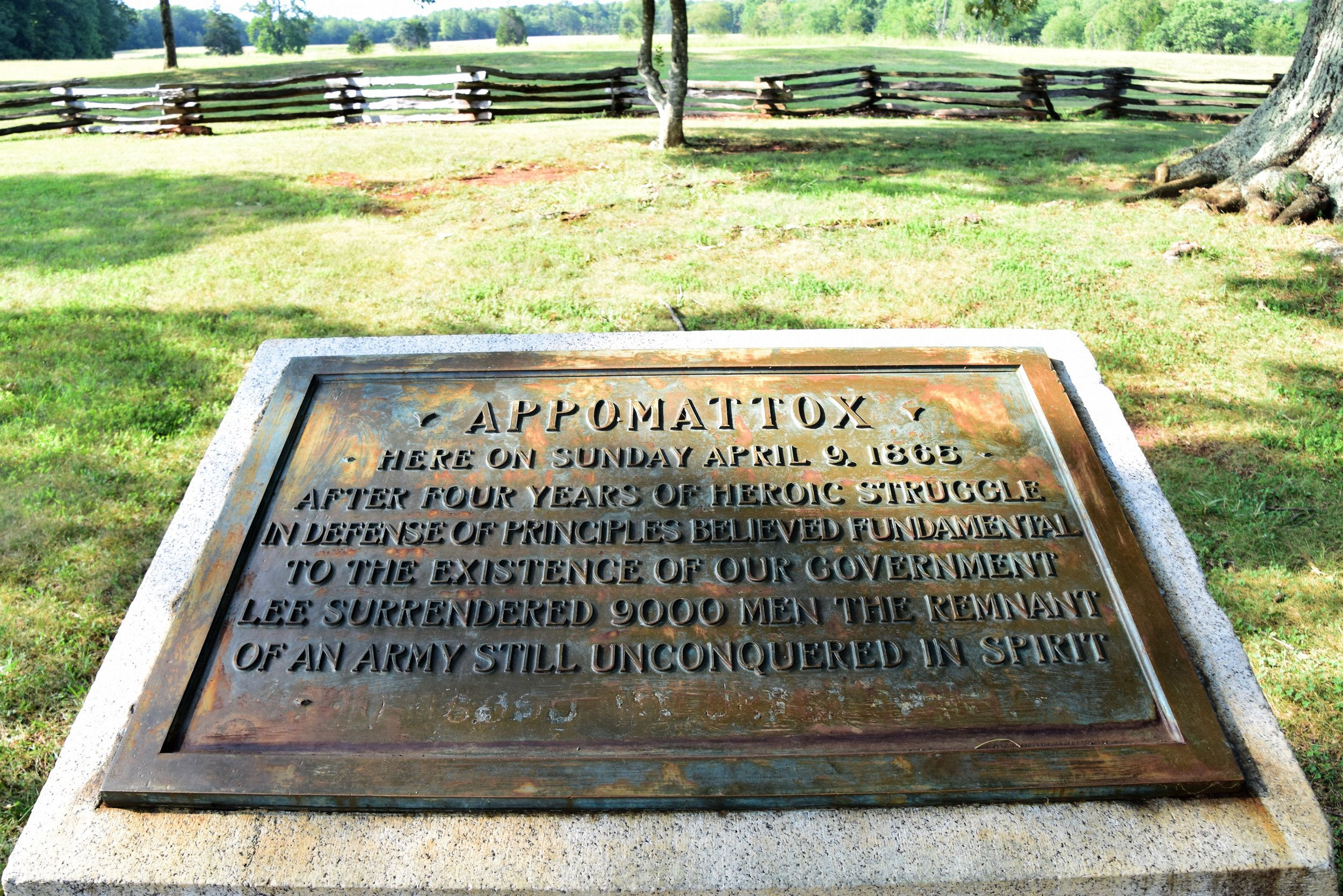 Appomattox Courthouse, Virginia