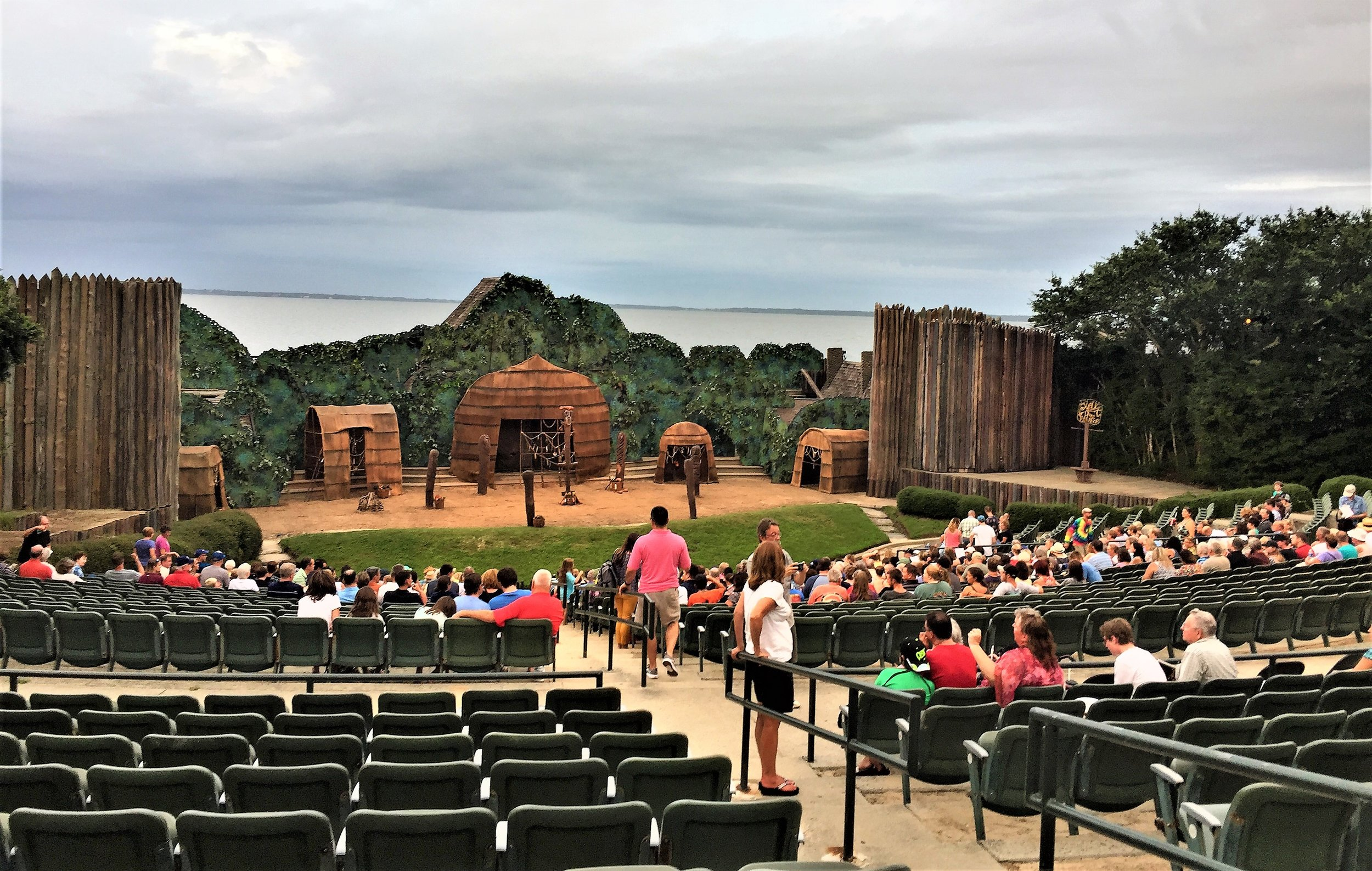 The Lost Colony at Fort Raleigh