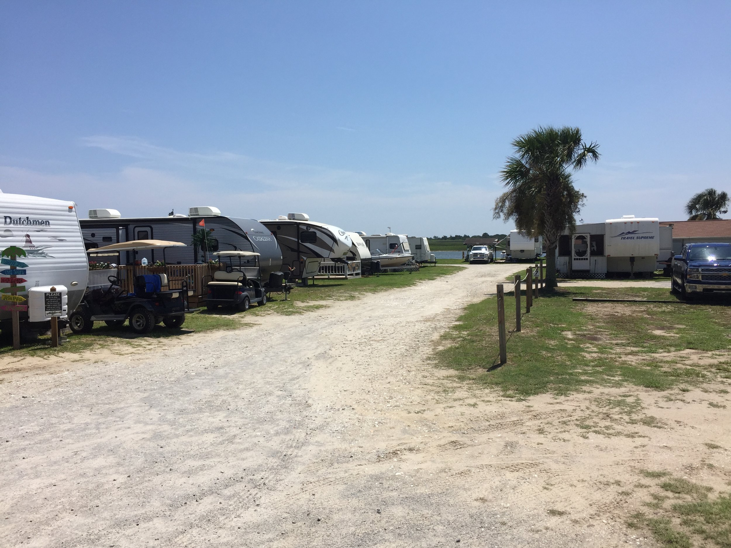 Waterway Family Campground, Shallotte NC