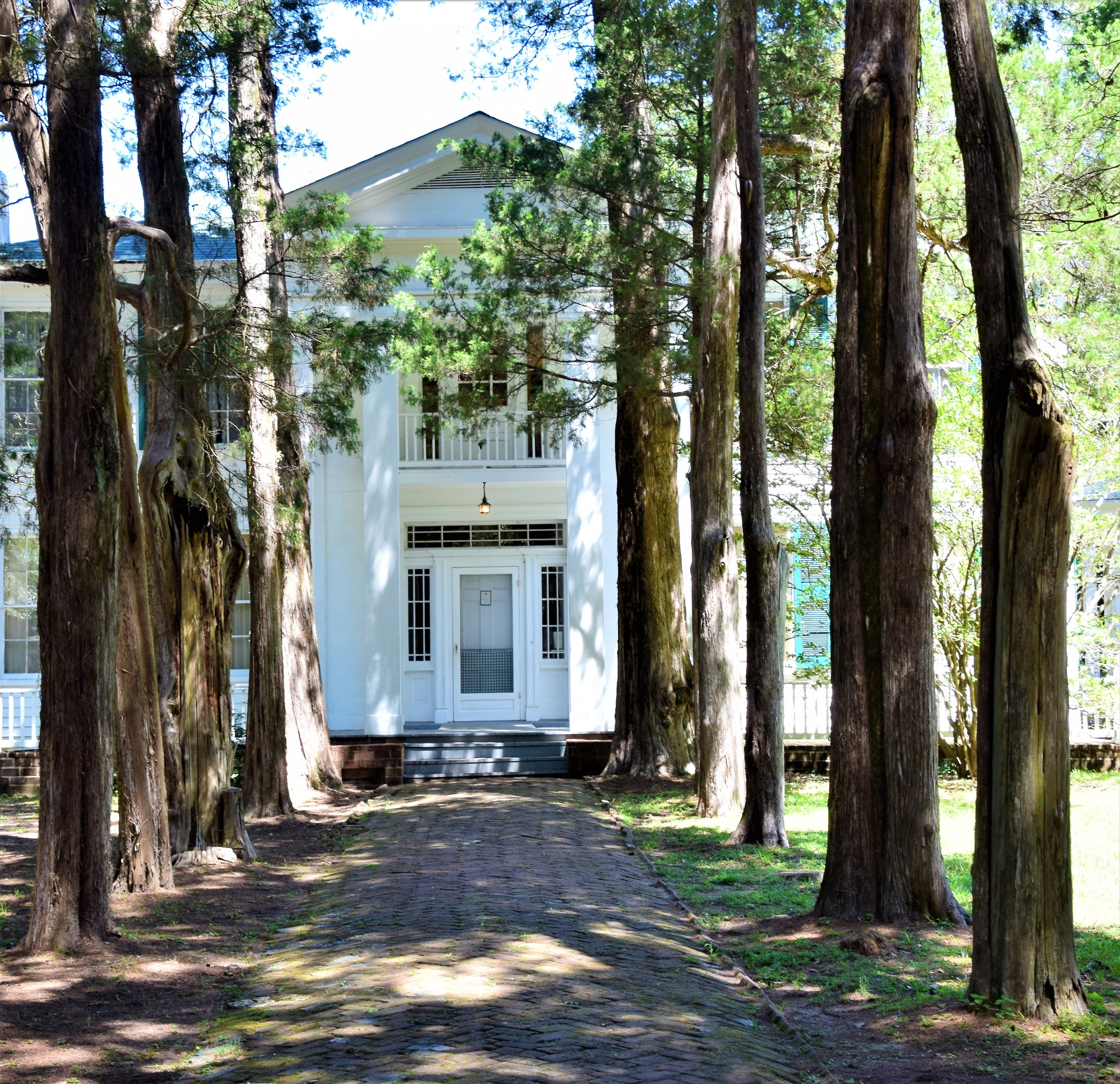 William Faulkner's home, Oxfrod, Mississippi