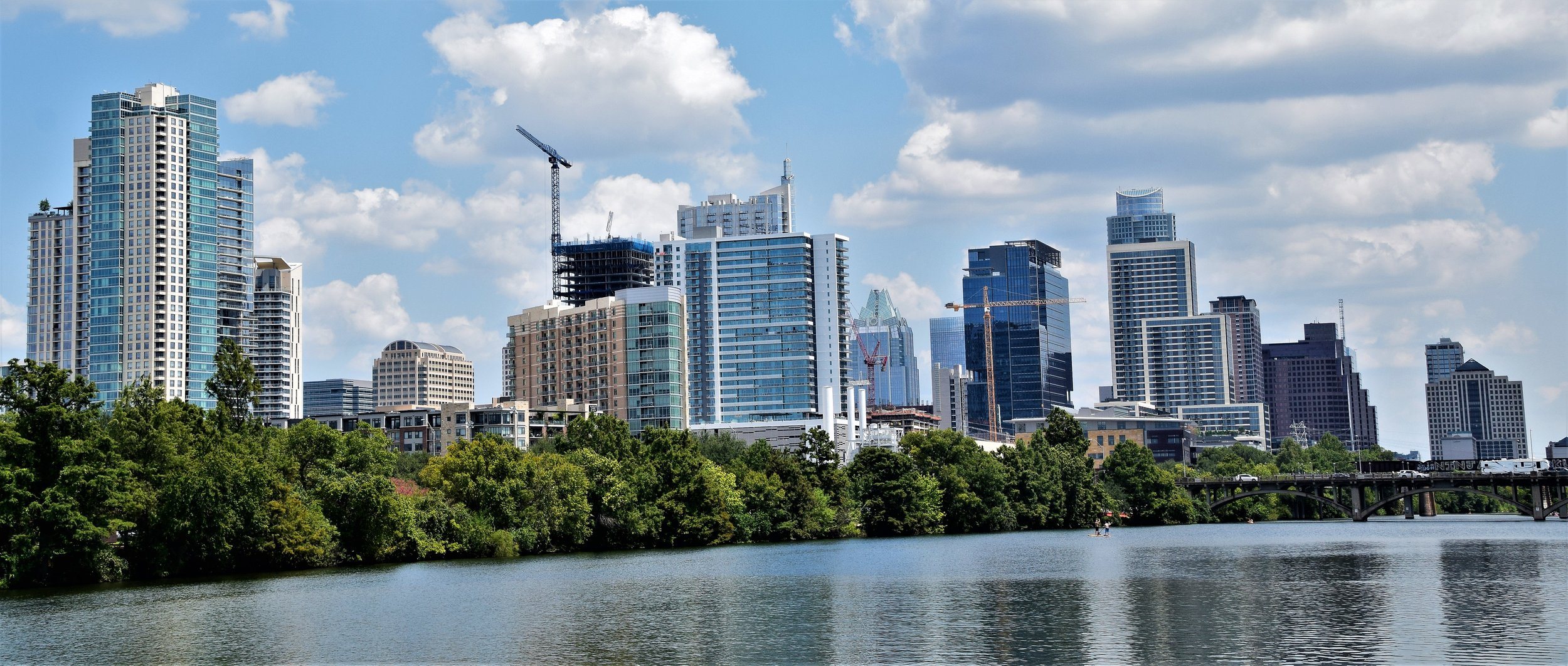 Part of Austin from Town Lake