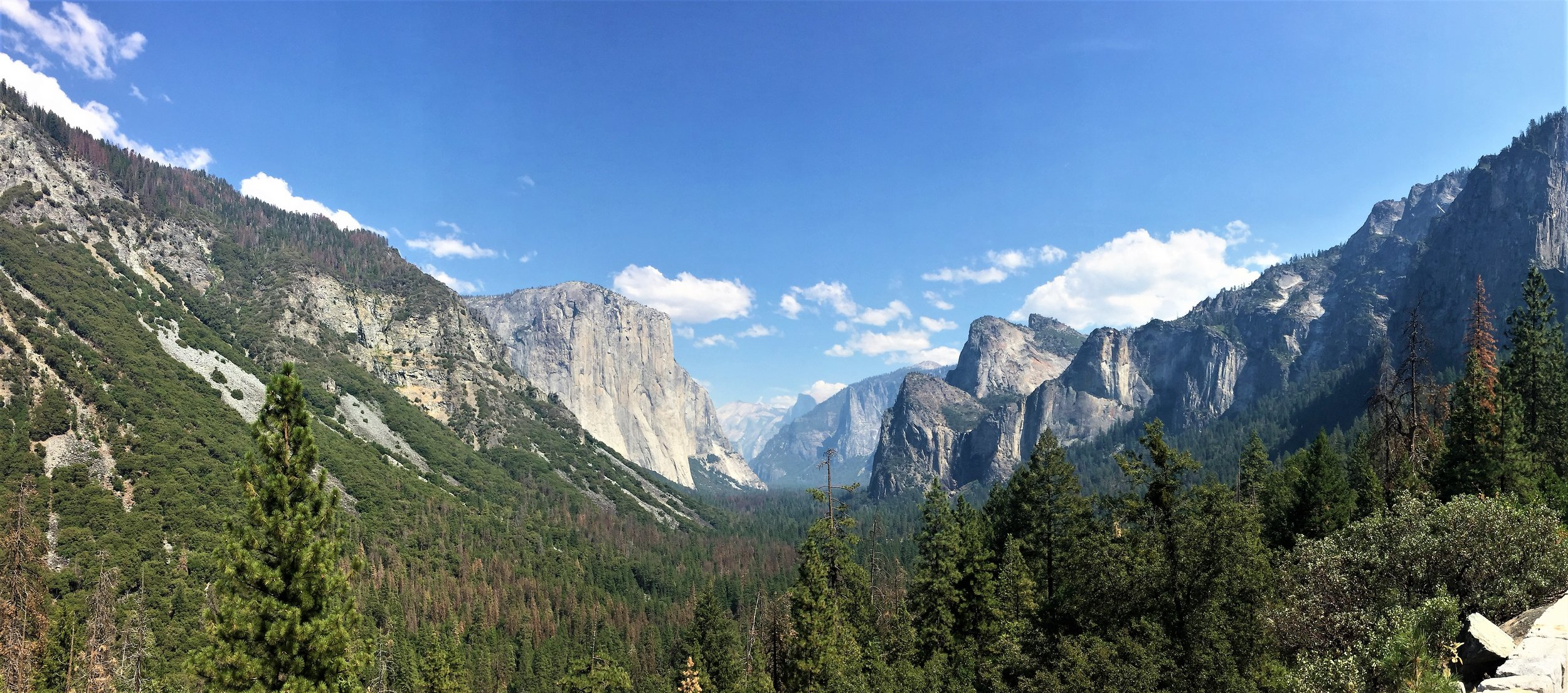Tunnel View, Yosemite NP