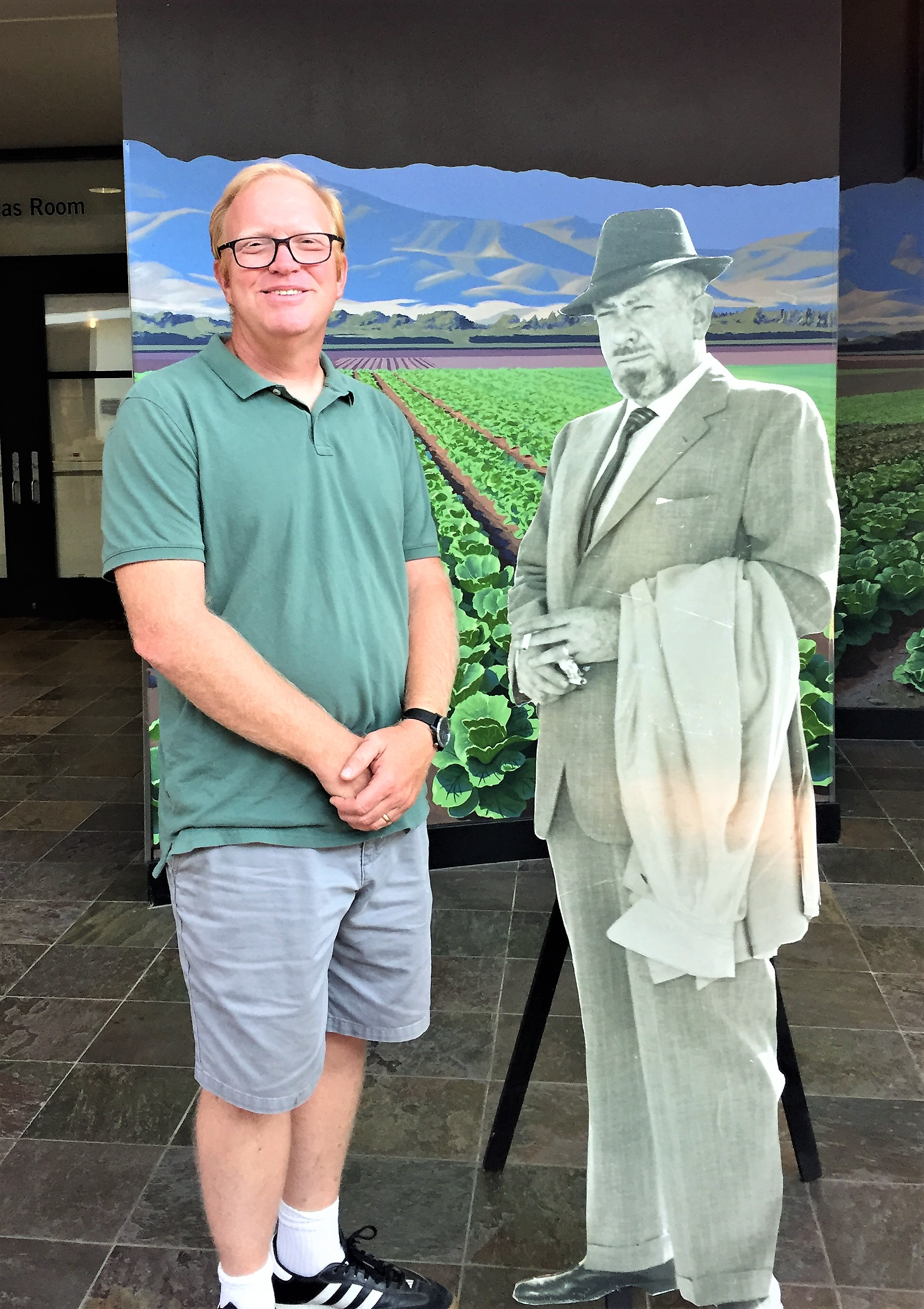 "Who's the ""larger"" literary figure? National Steinbeck Center"