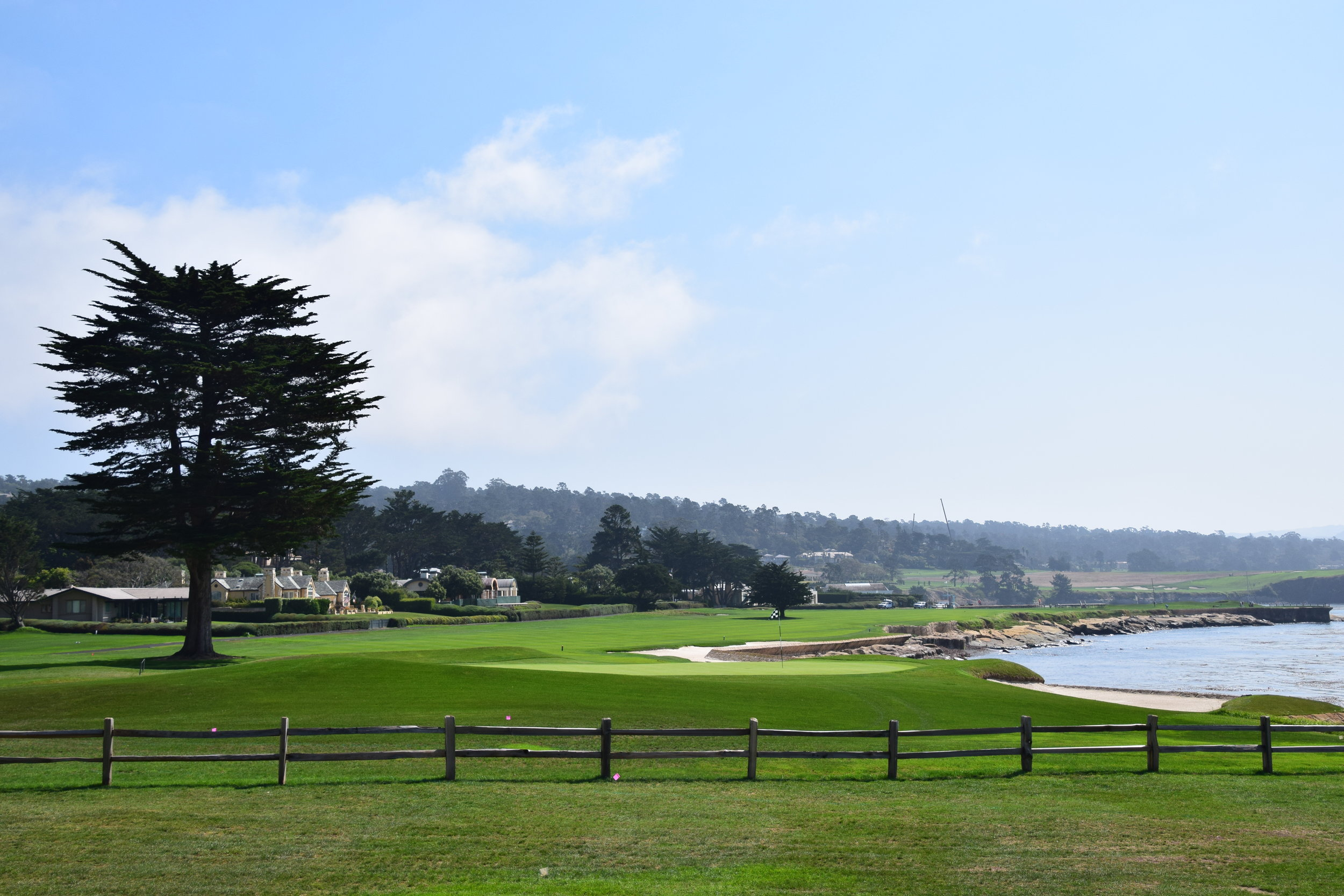 Pebble Beach GC, 18th Hole