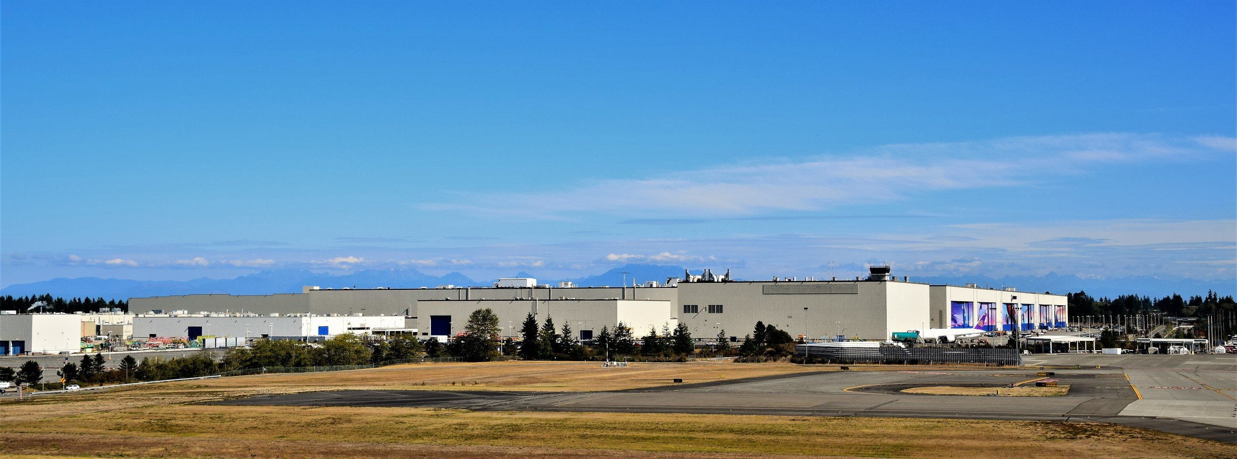 Boeing Factory Building
