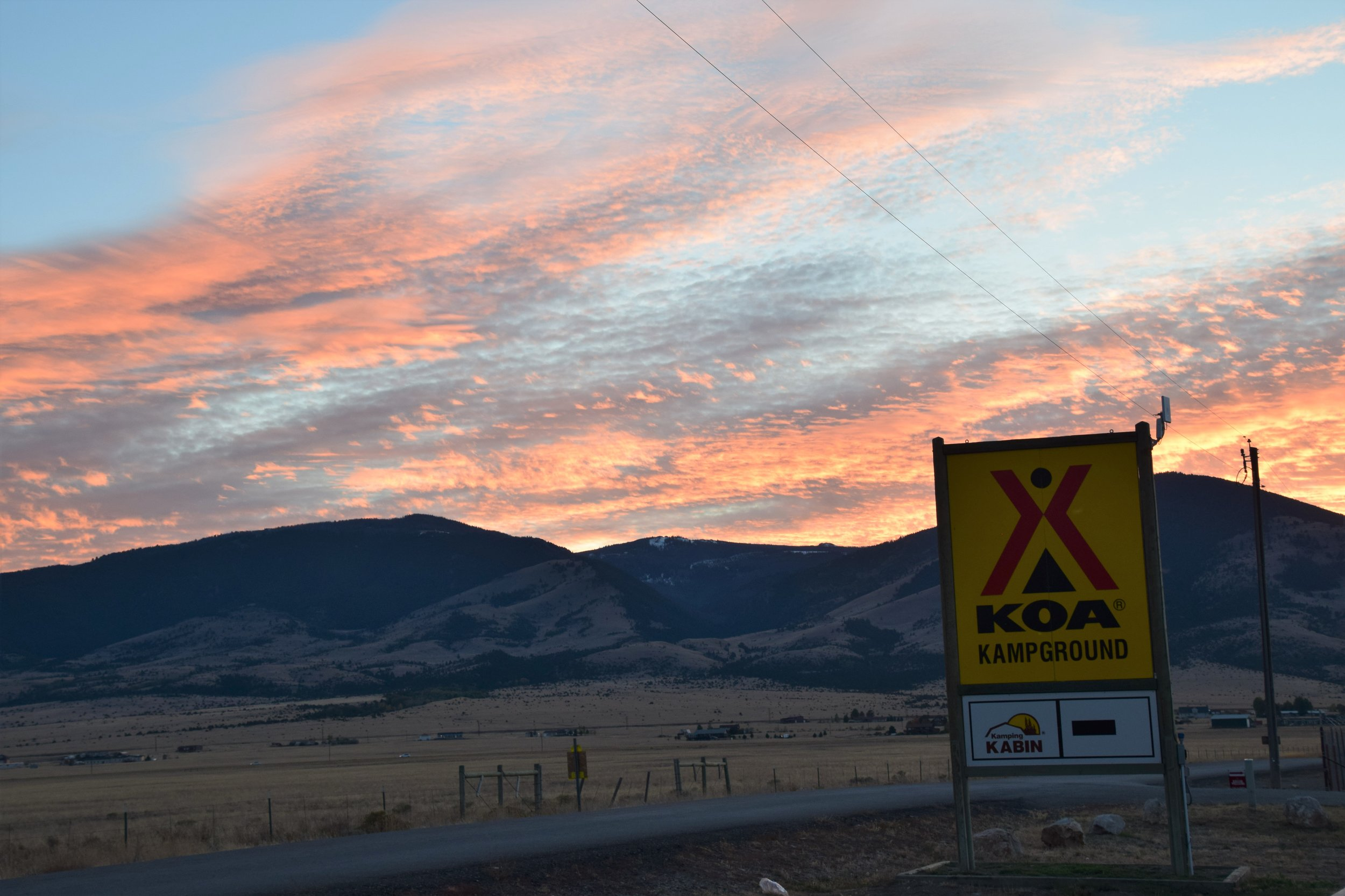 Townsend KOA, Montana