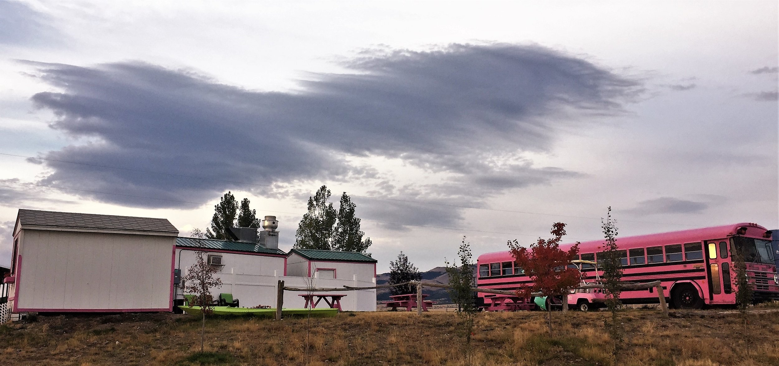 Flamingo Bus-Mount Townsend KOA