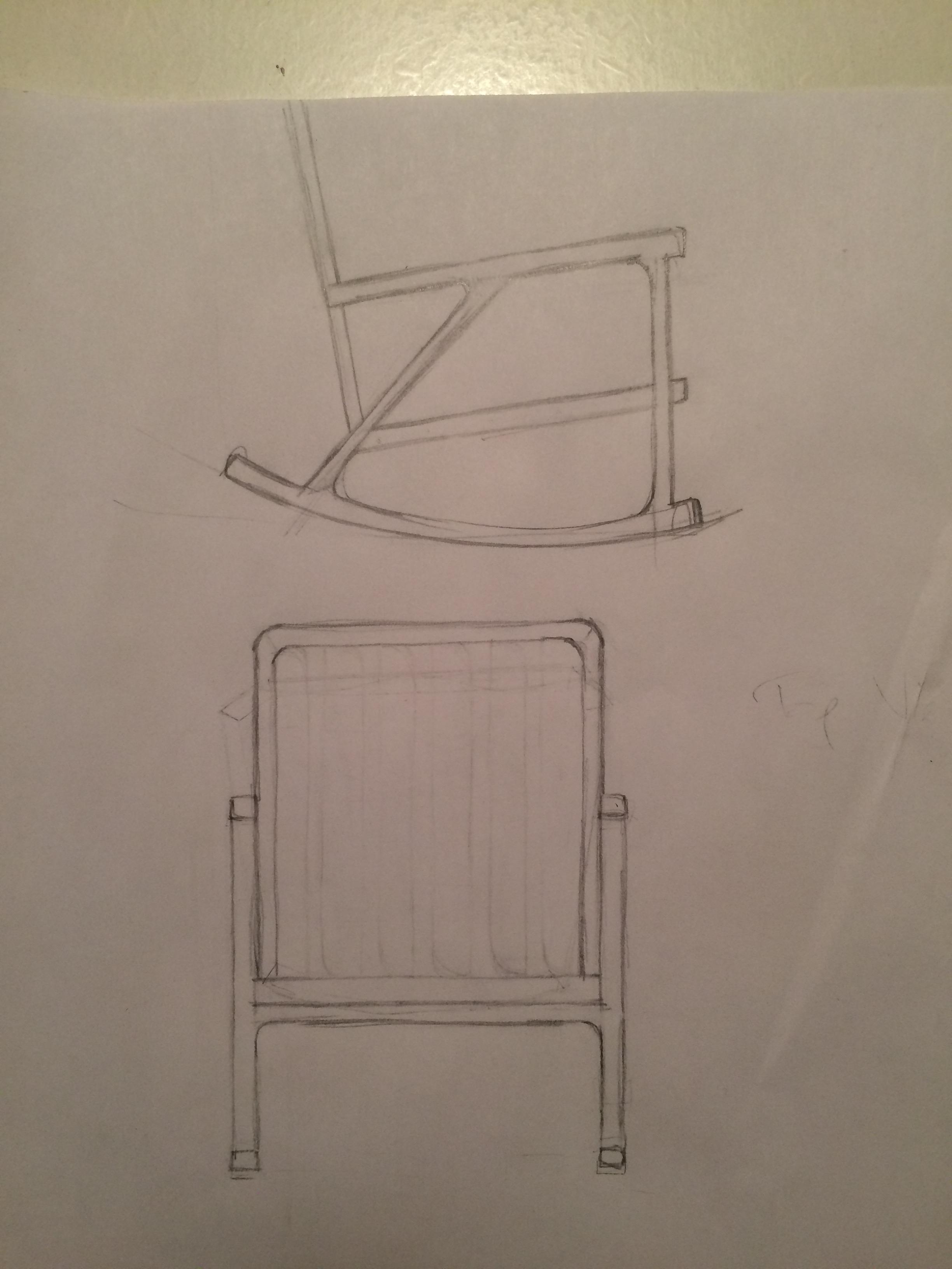 Finalised sketch design