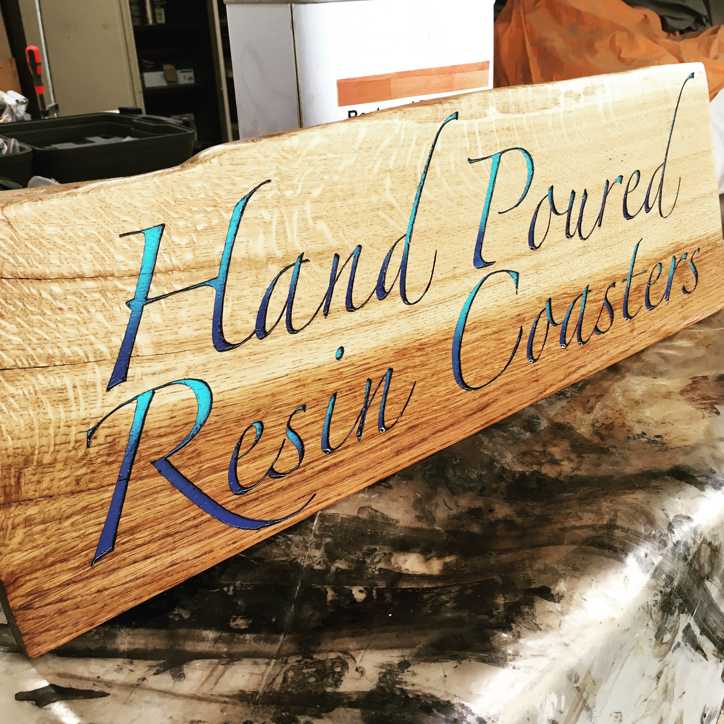 Custom signs for any use, made to order.