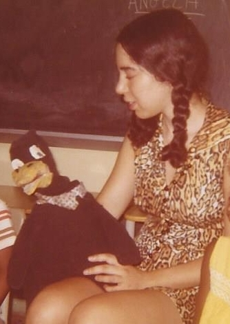 - Gregory teaching Head Start students in 1971, as part of research on reading with Lila Gleitman