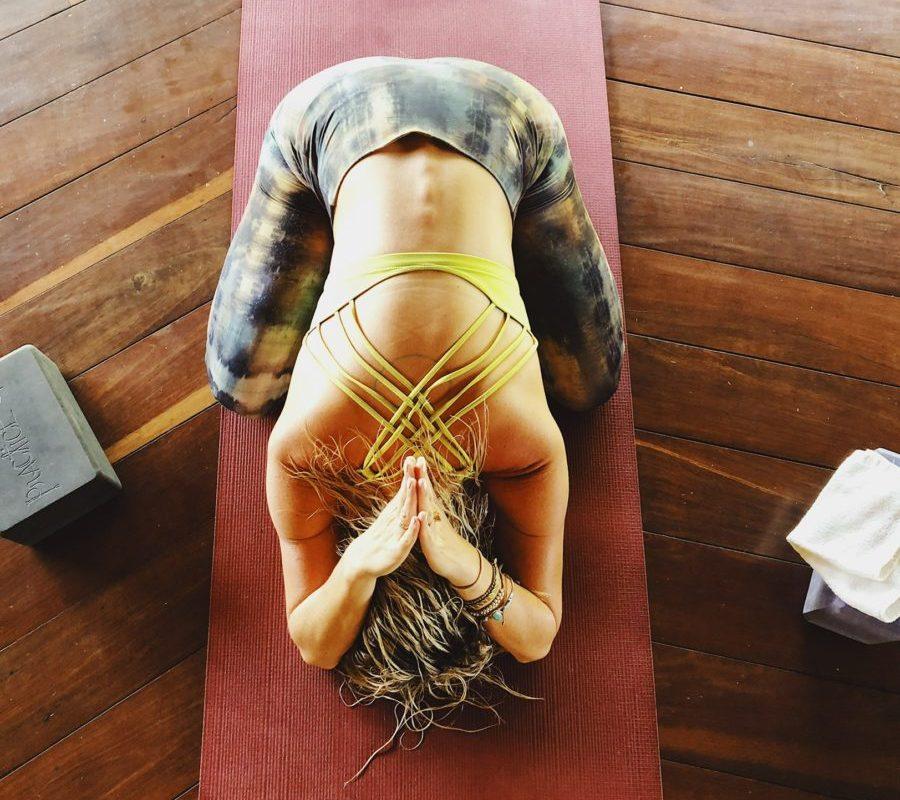 Yoga Photo Remember Your Voice-Corrina Lander