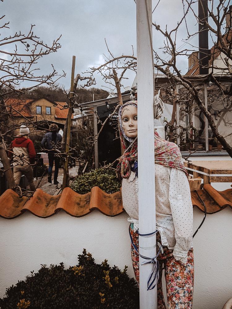 Swedish death mannequin. © Jake Warren, 2019