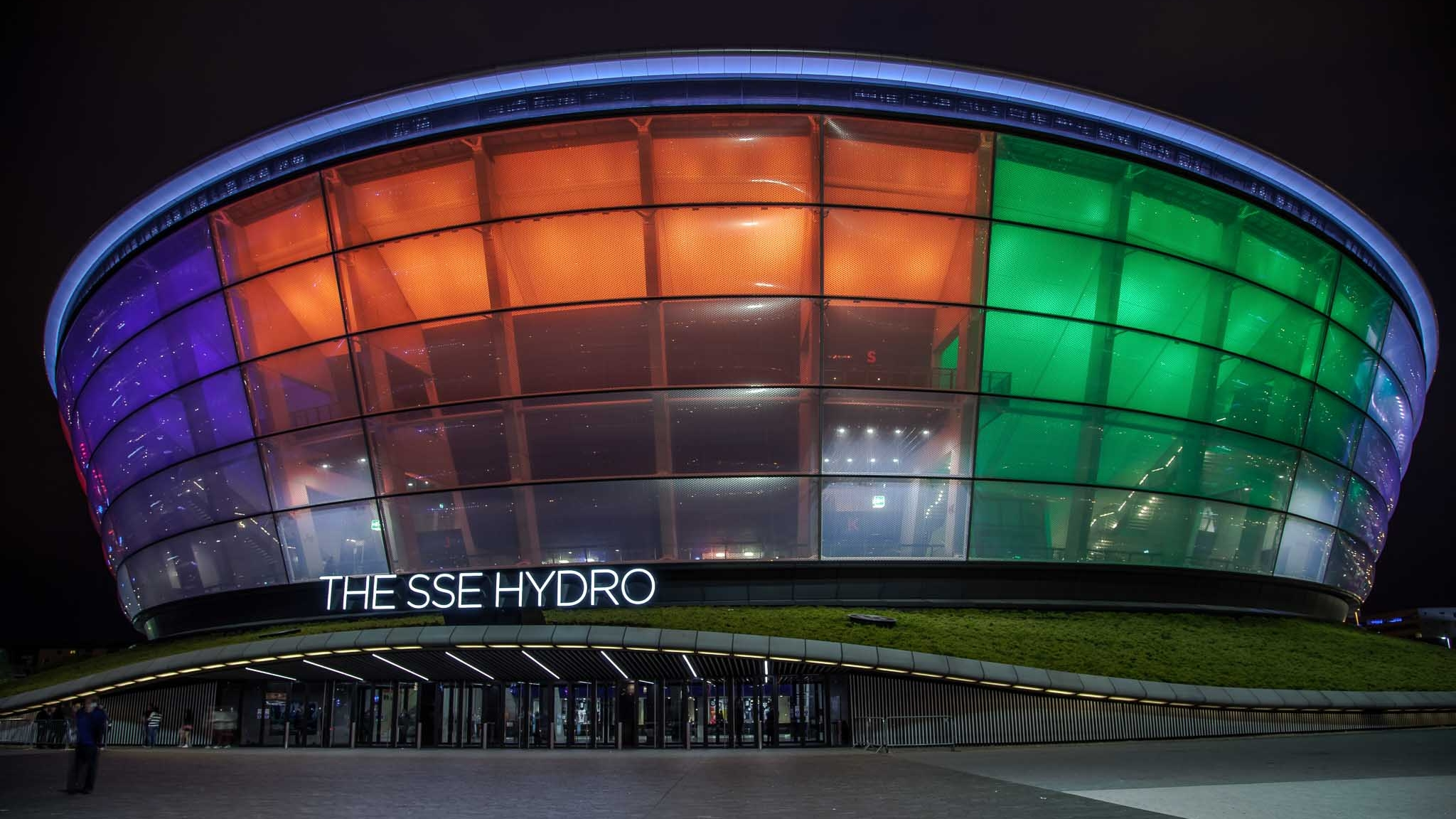 The SSE Hydro shot by Space21 Photography & Media