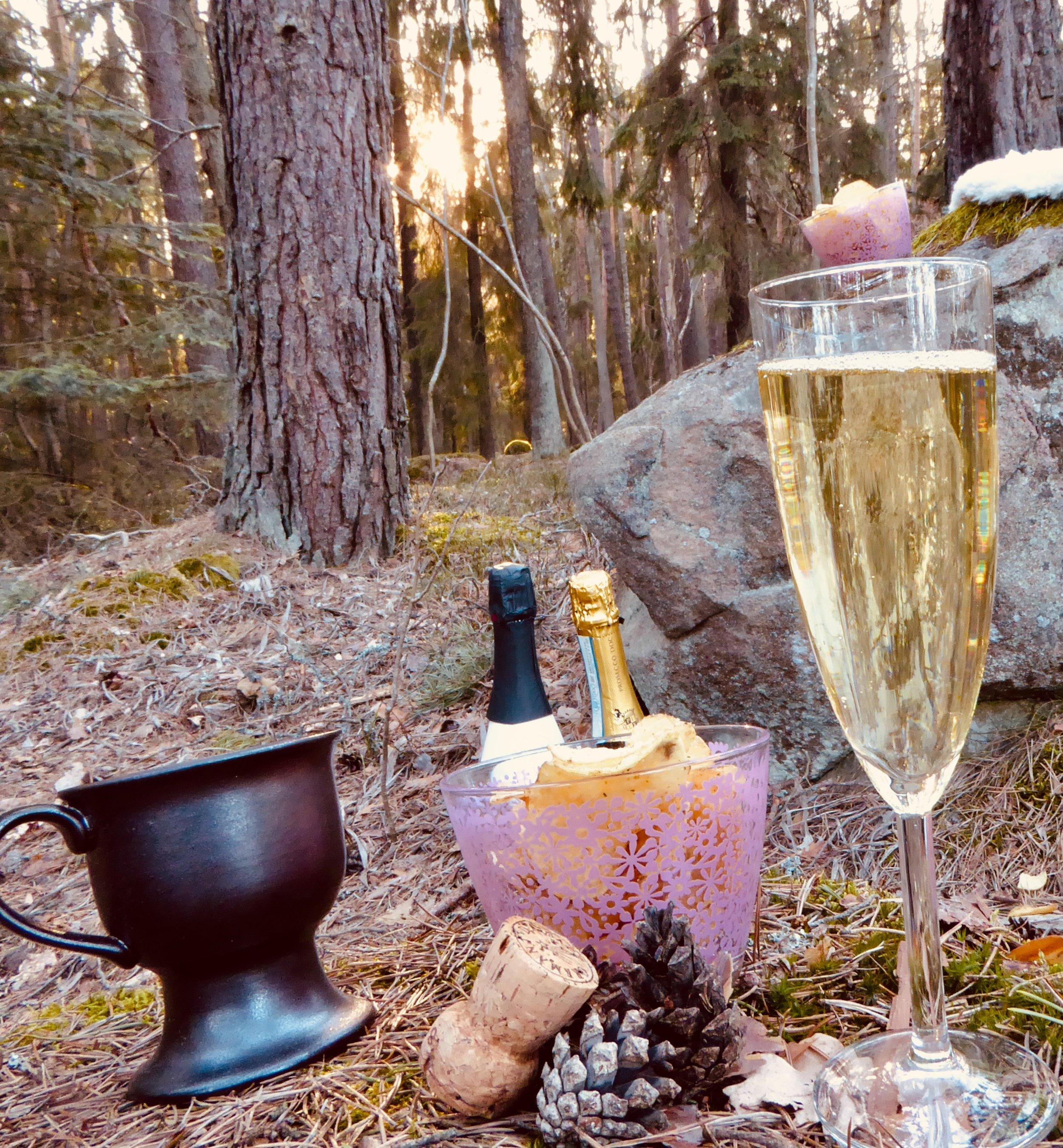 Swedish Fika in the forest. Photo: Jenny Rosen, Djurgårdens Ekolyx.