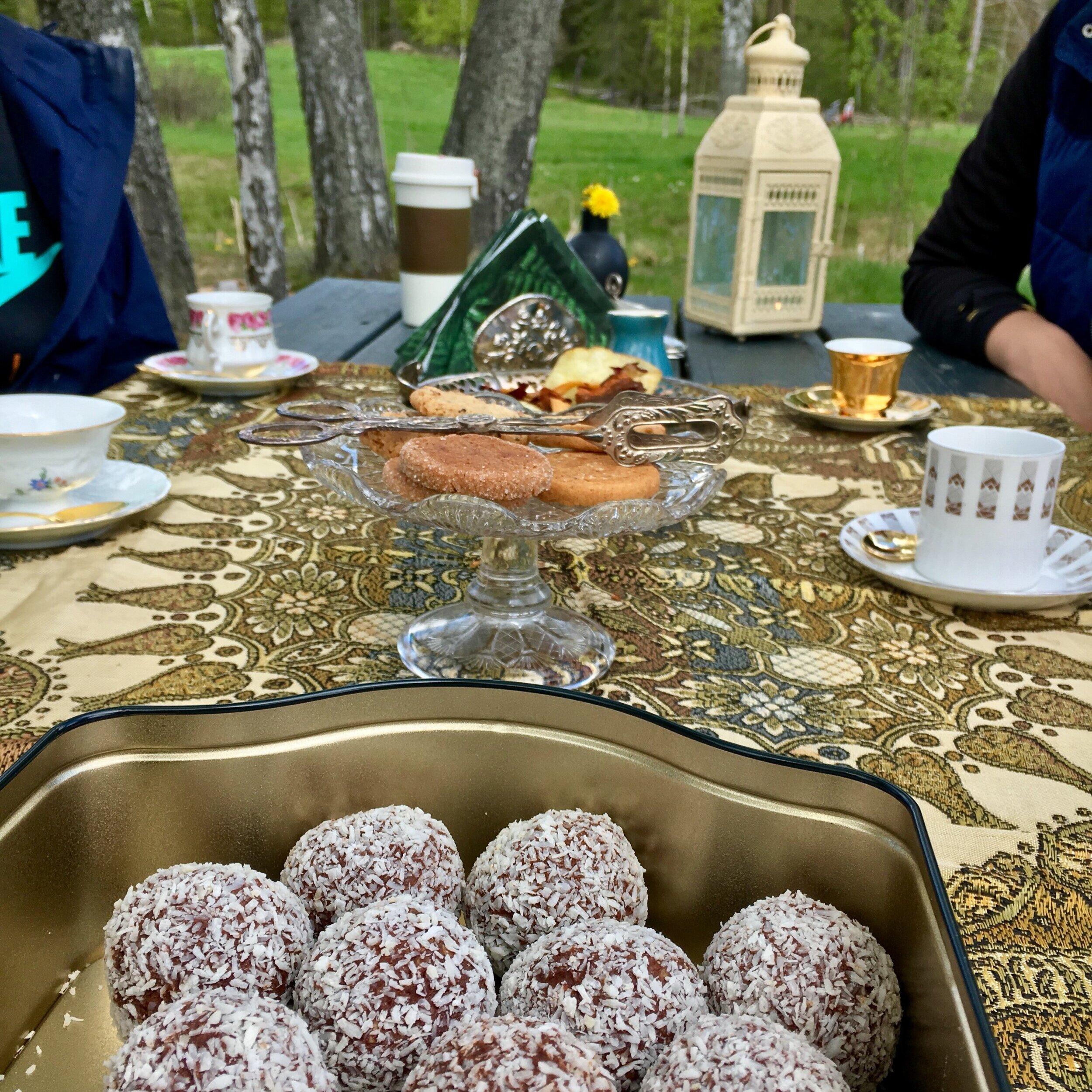 Ekofika på Djurgården. Foto: Jenny Rosen, Djurgårdens Ekolyx.