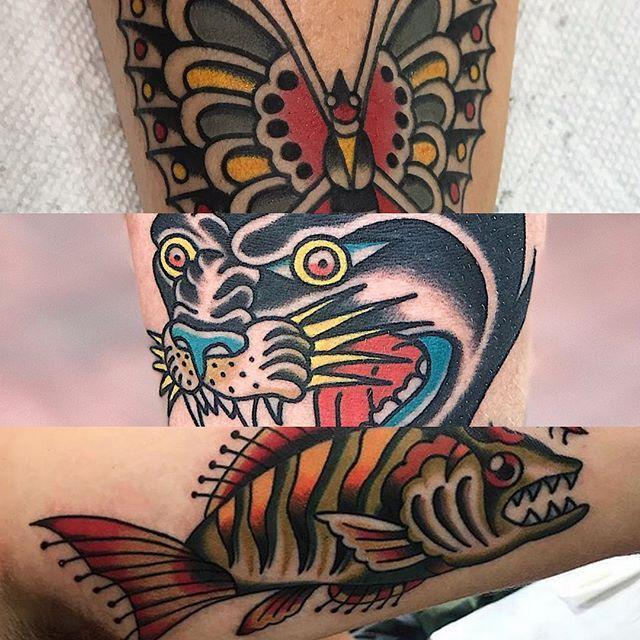 Let's get bold wit it! #traditionaltattoos #tattoos #805ink #santabarbara #california #vantigerstyle #tattooerlife