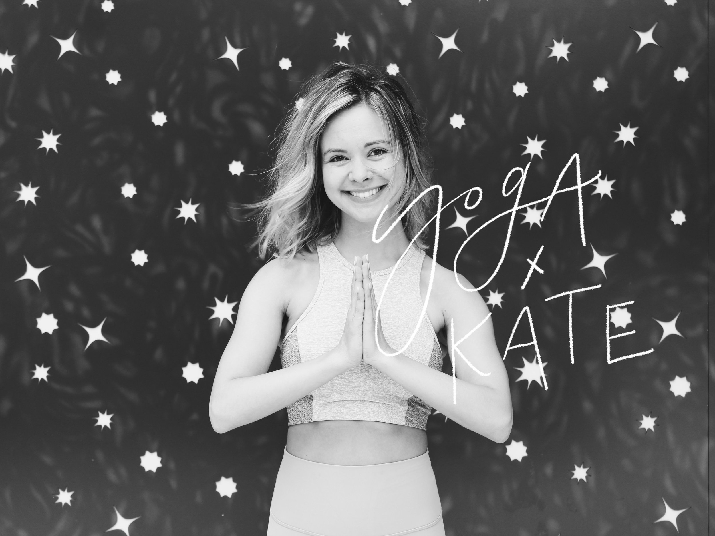 स्वागतम् - I'm Kate and this is a space for us to connect and share all things mindfulness, intention, and yoga. The hustle of city life and working around the clock led me to my first yoga class in 2017 in Boulder, Colorado and my life was changed forever. I found that when given permission to turn notifications off and turn inward, I'm able to foster the best version of myself on and off my mat, too.I believe in yoga and I'm here to share it! Join in the fun at class or on instagram with @yogaxkate