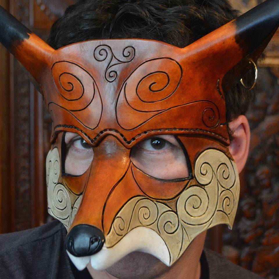 Pictish Fox Mask