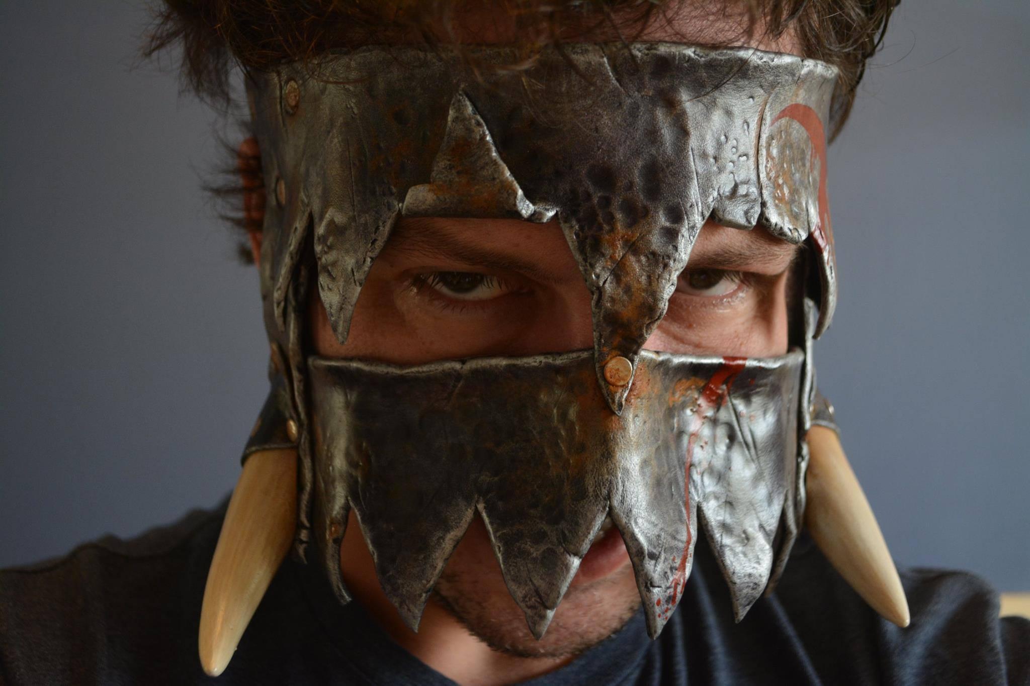 Bear Trap Orc Mask
