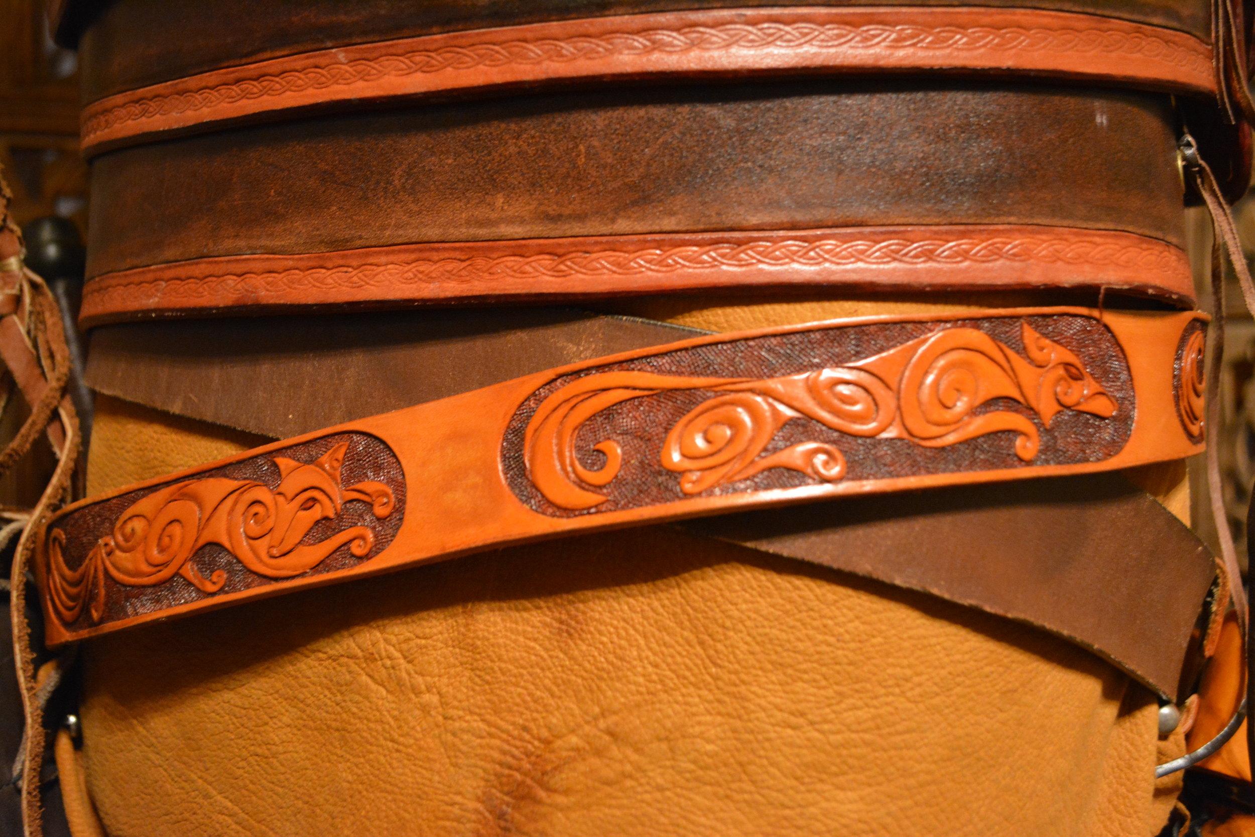 Pictish Fox Belt