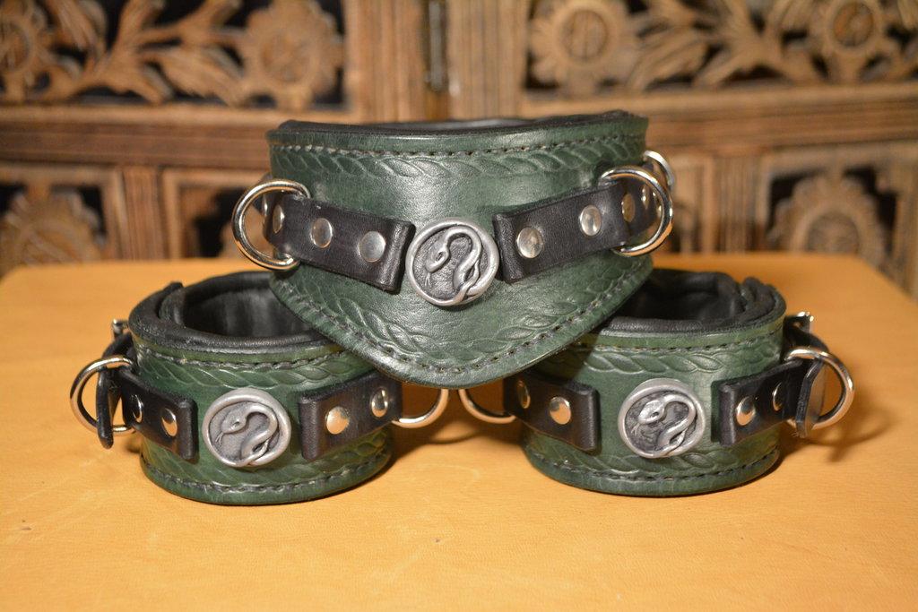 Serpent Collar & Cuffs