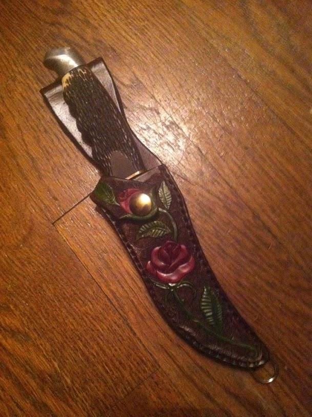 Briar Rose Knife Sheath