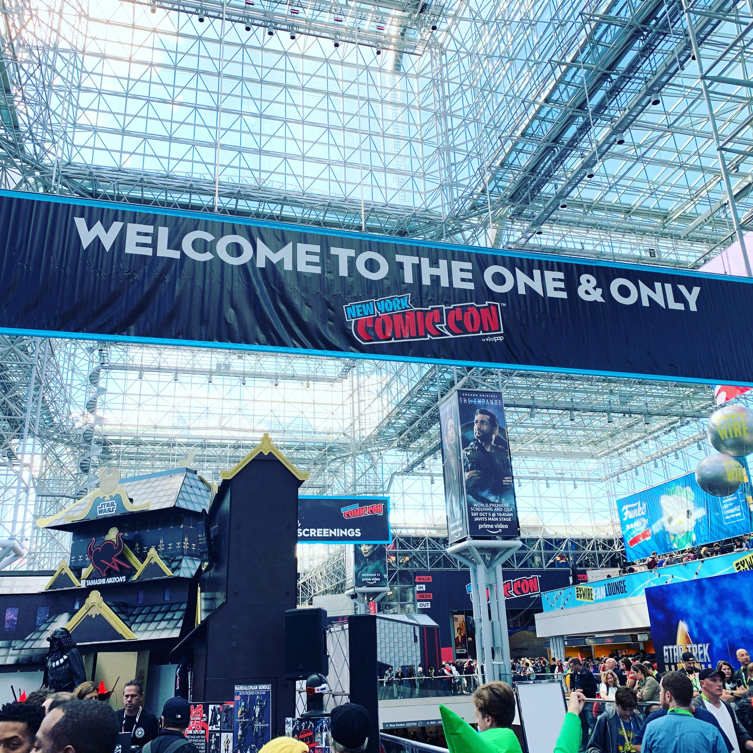 New York Comic Con 2020.New York Comic Con 2020 The Fan Squad