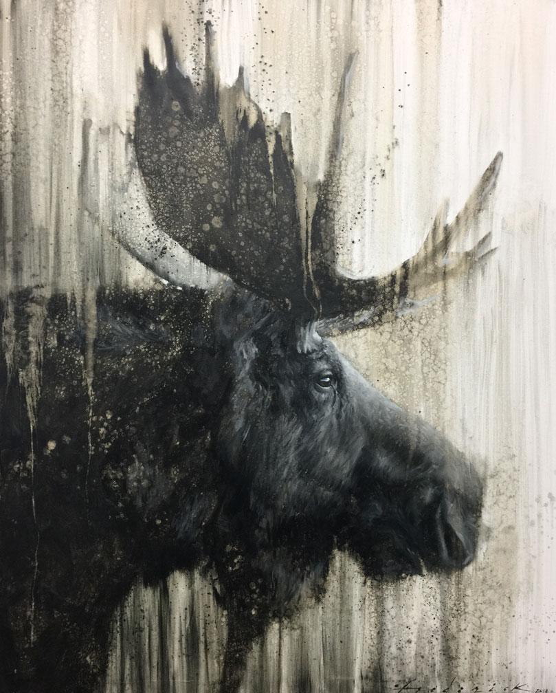 Moose in Profile