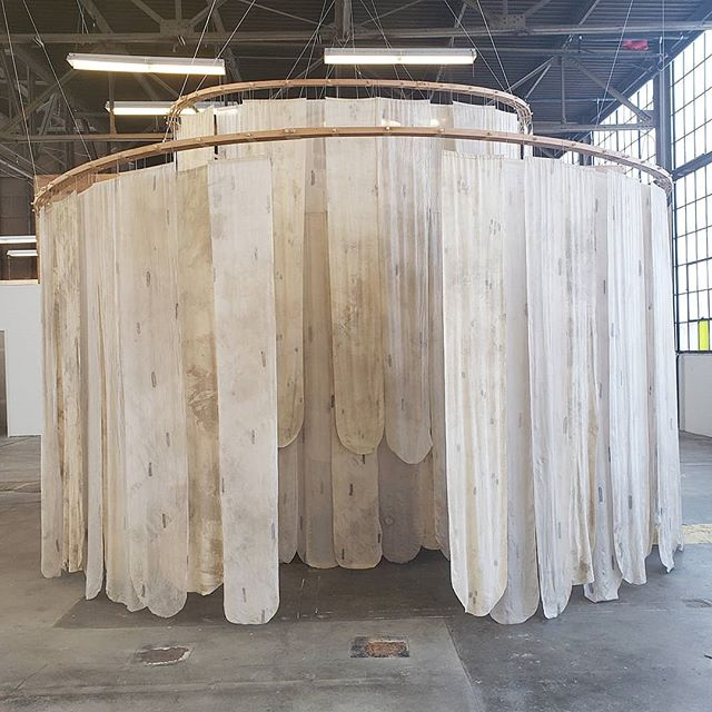 I want to invite you all to come experience my thesis installation!  Openings: May 26th 6-8pm June 6th 6-9pm  This project has been so wonderful to work on and I have learned so much. The feeling inside is indescribable, and I hope that you get a chance to experience it, especially by yourself.  I'll share more with you once my brain is back to normal! -  www.laurengoding.com -  #mfa #mfaprintmedia #printmedia #thesis #thesisexhibition #pdxartist #pdxart #contemporaryart #contemporaryartist #installationart #installation #textiles #textileart #textileartist #fabricartist #printmaking #naturaldye #naturaldyes #silk #wood #wire #labyrinth