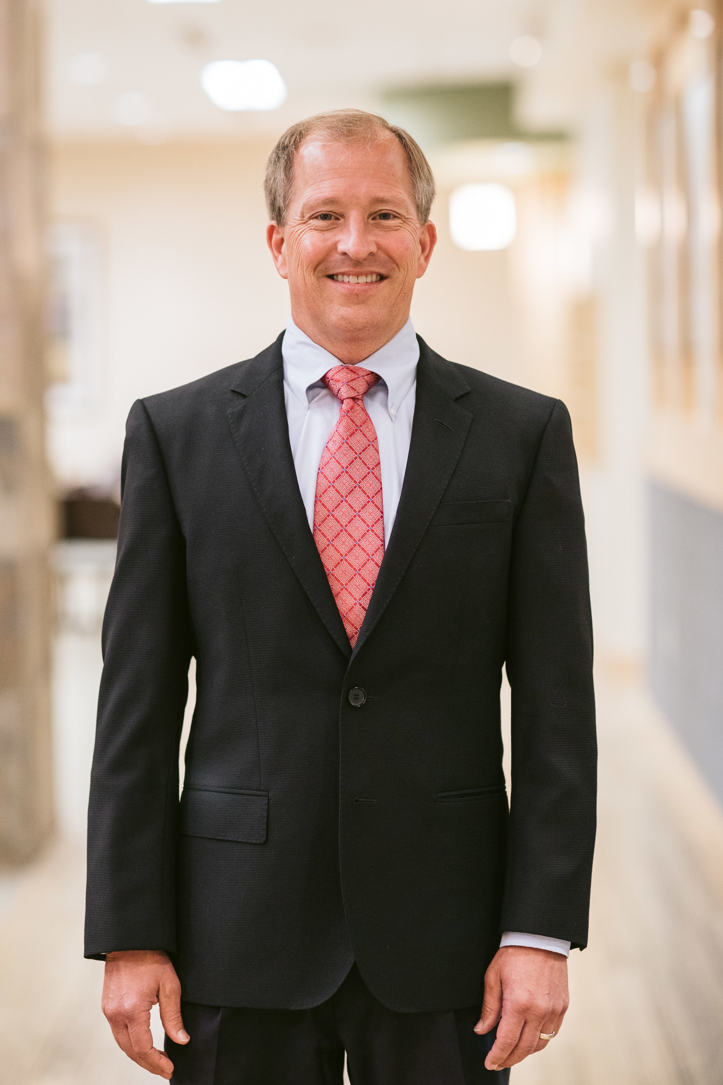 "Dr. Jeff Forslund  completed his undergraduate degree from the University of St. Thomas and graduated from the University of Minnesota School of Dentistry in 1988. After graduating, he served 4 years in the Navy and has been with Southern Heights Dental group since 1993. When asked about his favorite part of dentistry, he responded, ""I enjoy all aspects of Family/General Dentistry and have a special interest in helping people with sleep apnea and TMJ problems"".  A Diplomate of the American Board of Dental Sleep Medicine. Member of American Academy of Dental Sleep Medicine (AADSM), and International Association of Physiologic Aesthetics. Licensed by the State of Minnesota."