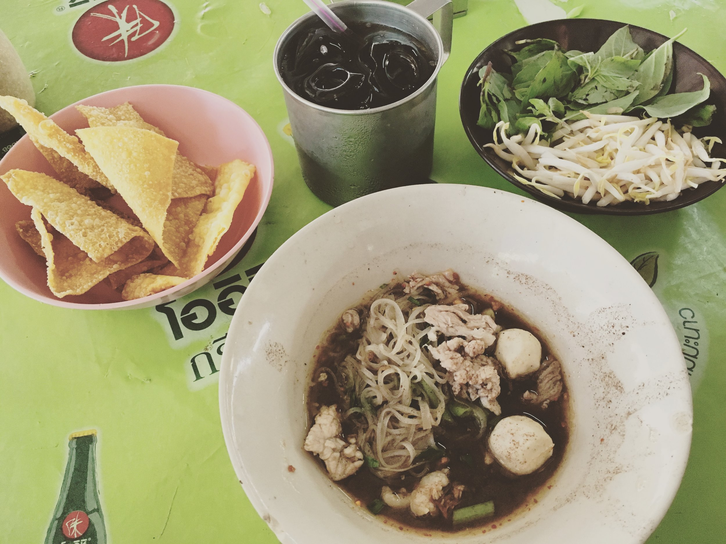 Boat Noodle Alley Victory Monument