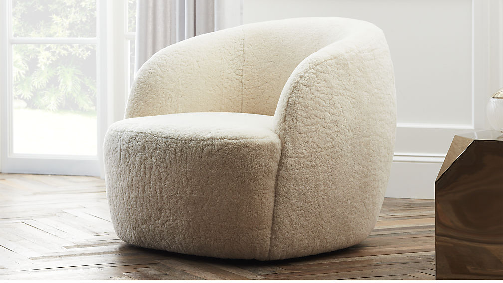 Wrap me in this swivel chair, stat!