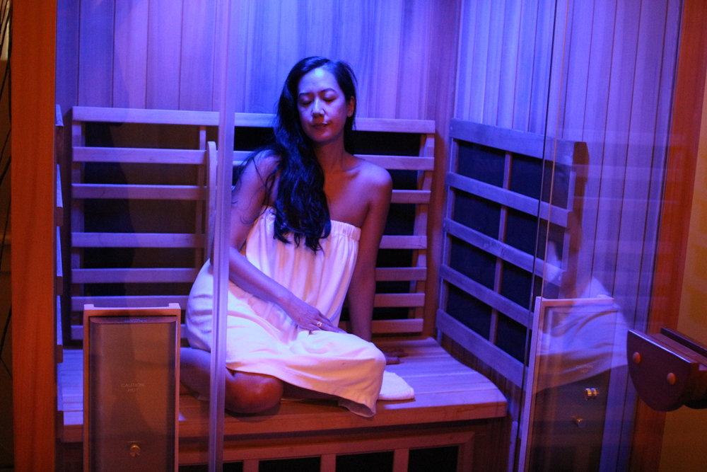 SEATTLE CITY SWEATS:  Infrared wellness