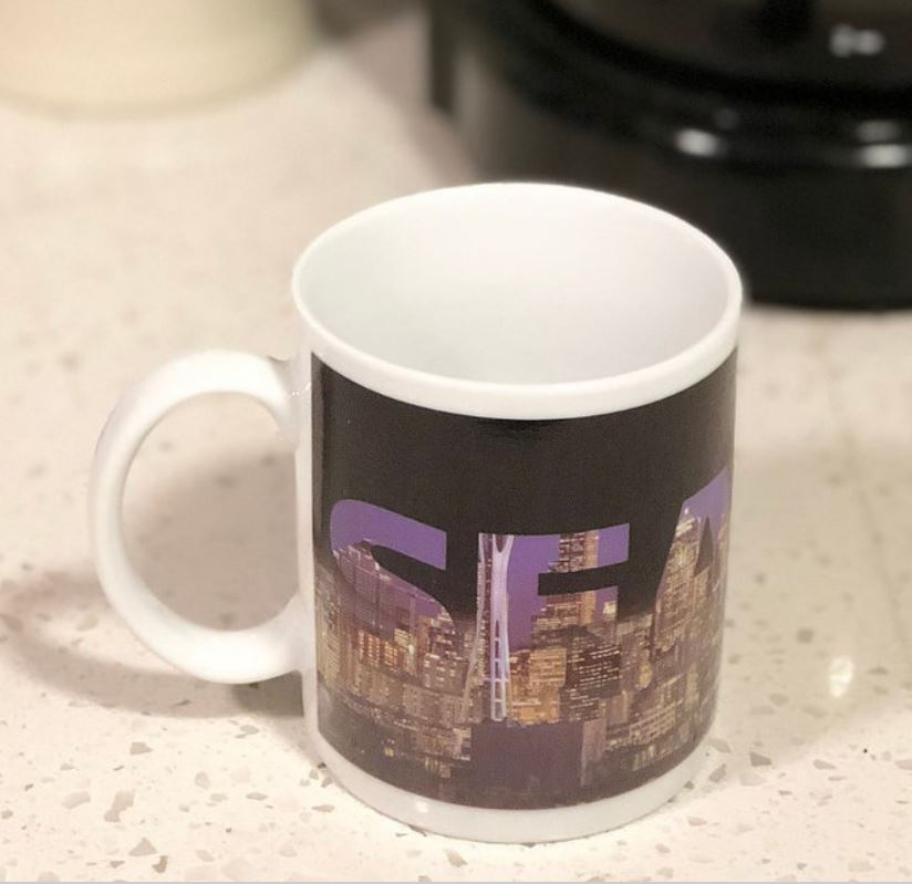 SUNKISS:  Image changing mug