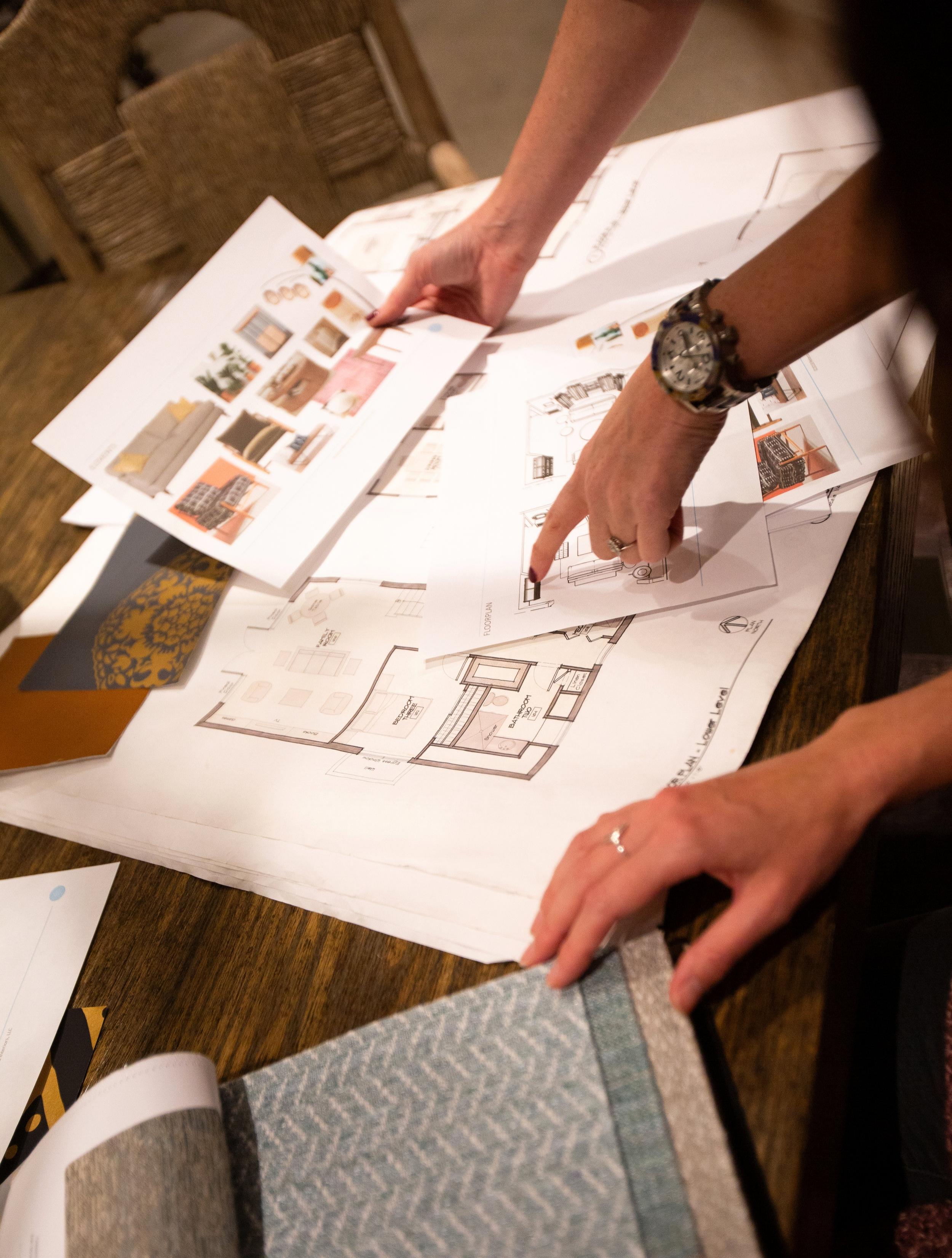 Rebecca Rowland Interiors design plan