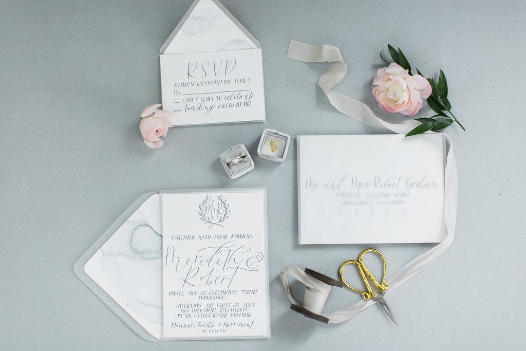 INVITATIONS + DESIGN