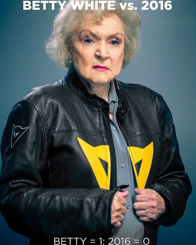 Don't mess with Betty.