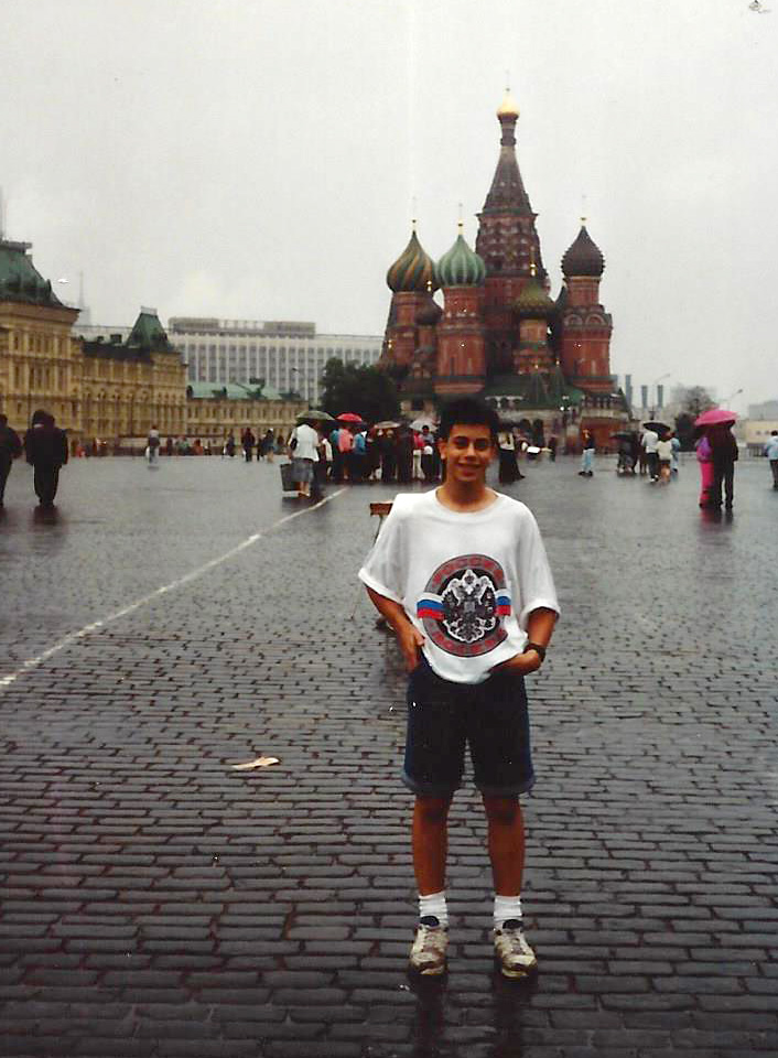 Red Square, Moscow, 1992 just after communism fell