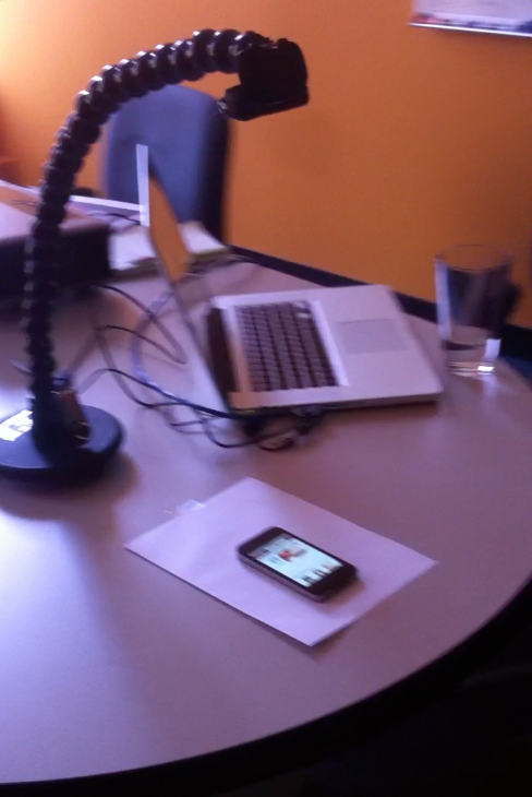 Mobile testing in the usability lab