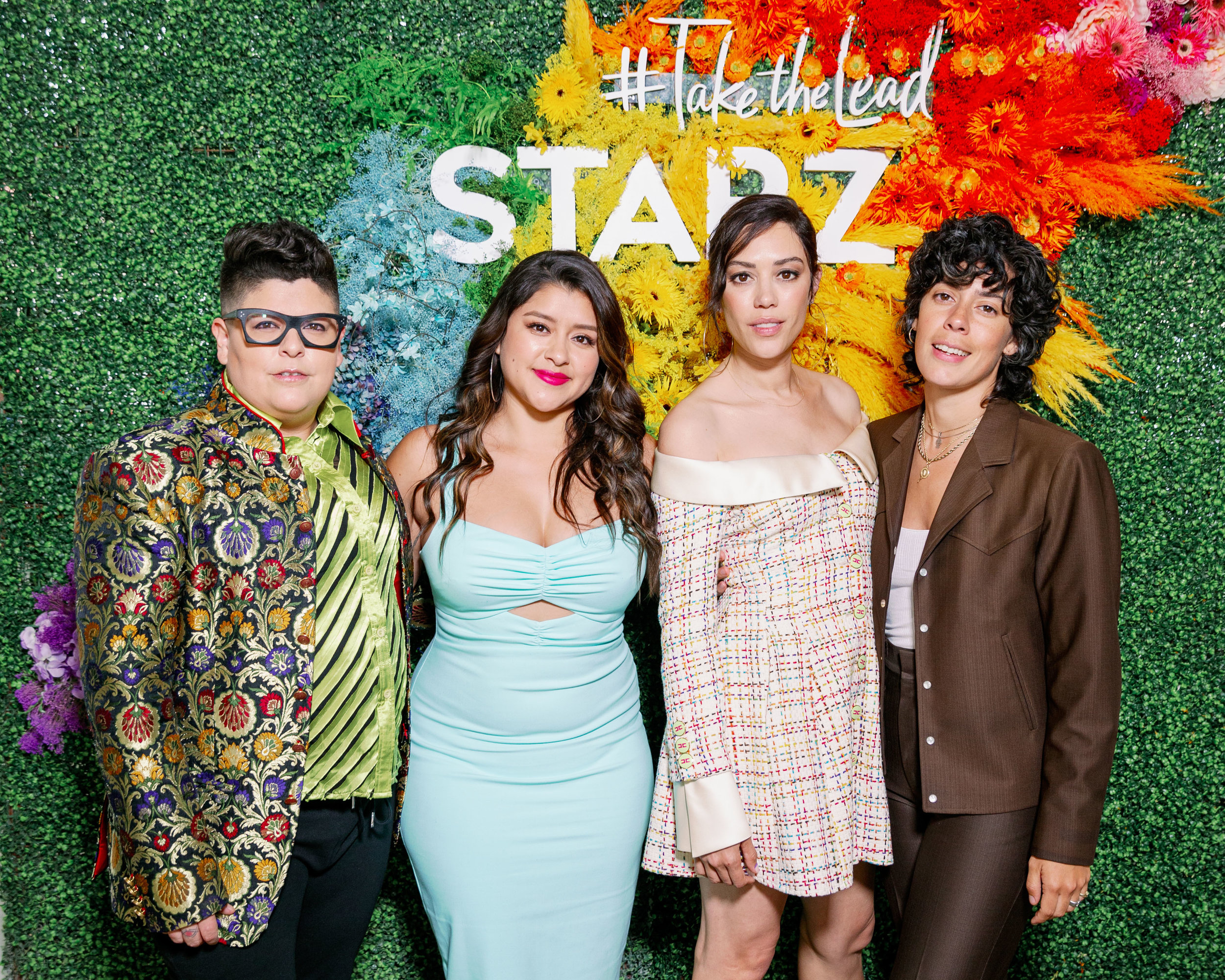 The stars of Starz's VIDA at Create & Cultivate. From left to right: Ser Anzoategui, Chelsea Rendon, Mishel Prada, and Roberta Colindrez.