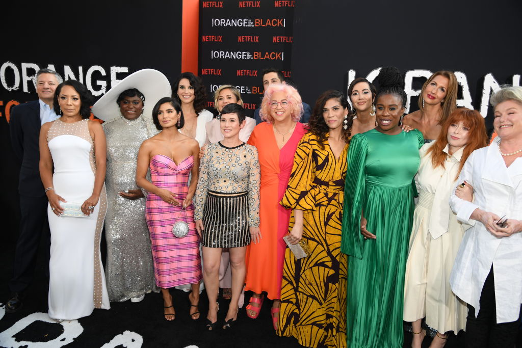 'Orange Is the New Black' cast photographed by Dimitrios Kambouris/Getty Images