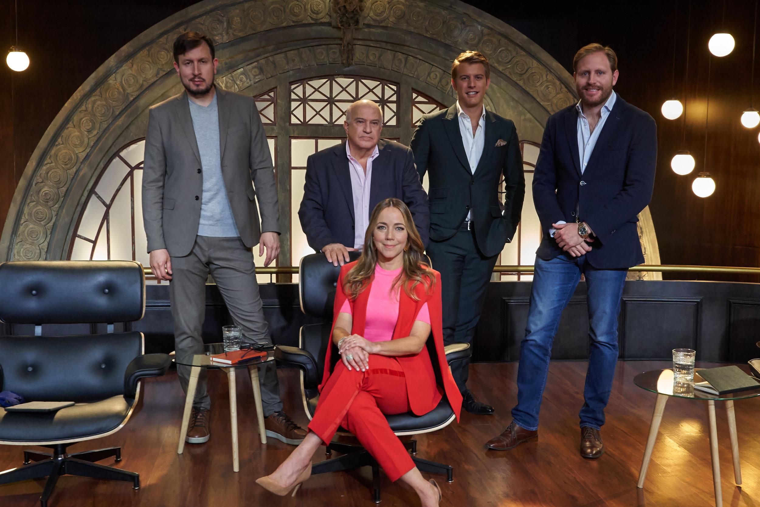 Sony Channel Latinoam é rica's Shark Tank Colombia investors